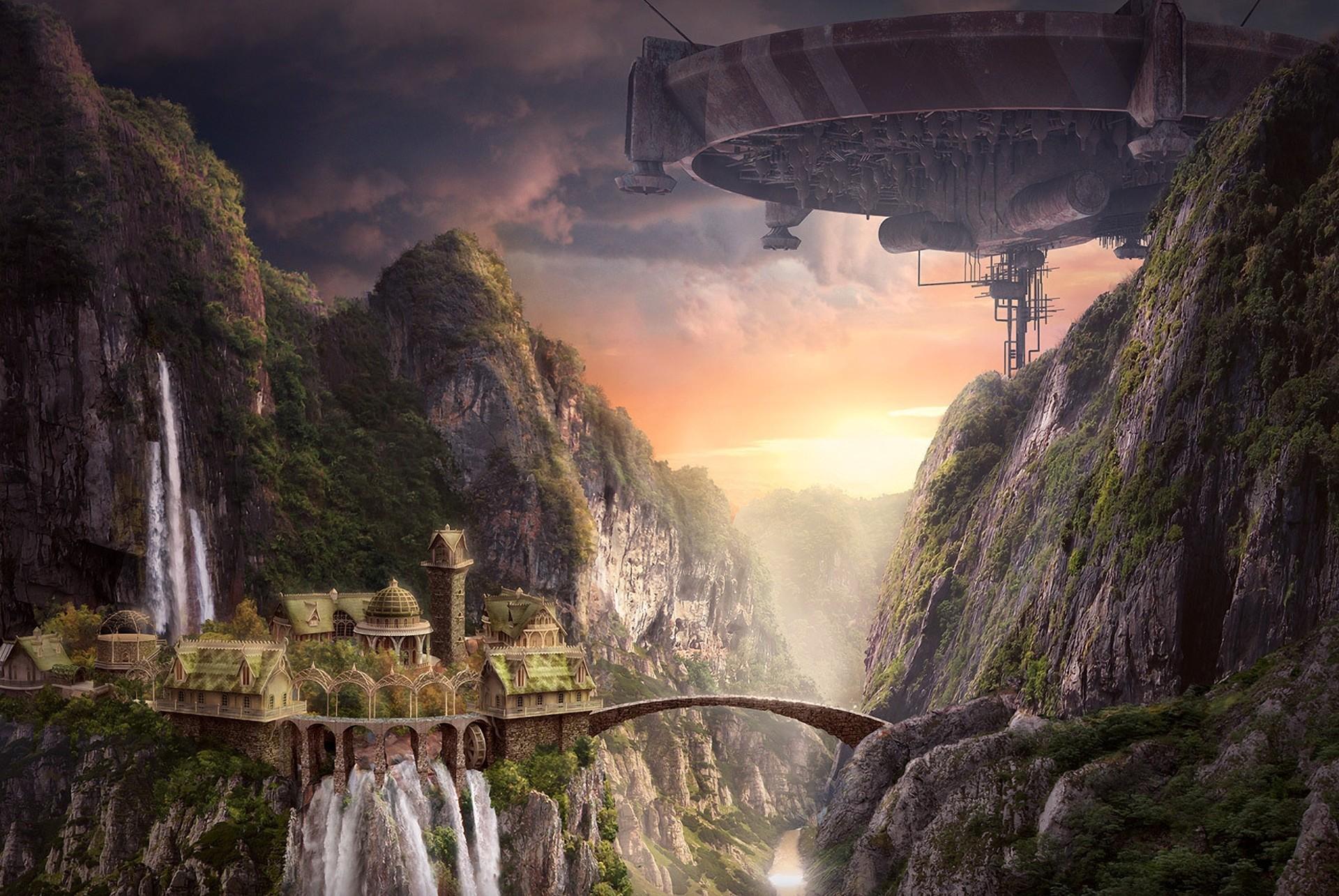 Bridge space ship wallpapers and images wallpapers - Fantasy wallpaper bridge ...