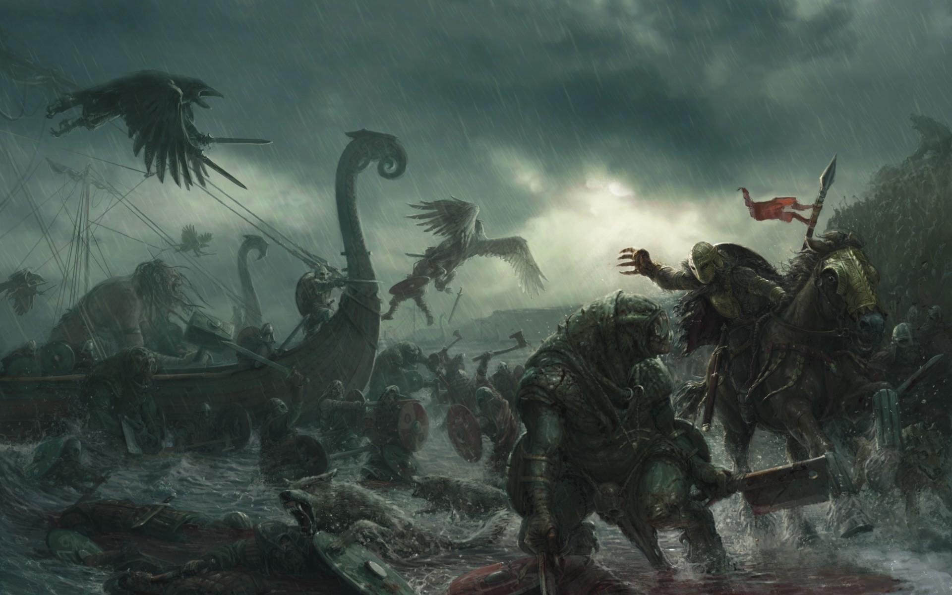 rain wings warriors vikings wallpapers and images