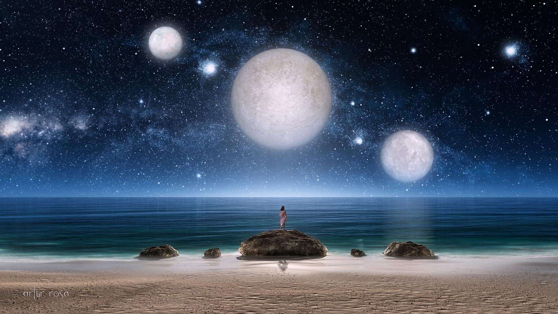Картинки луны и других планет статье просто