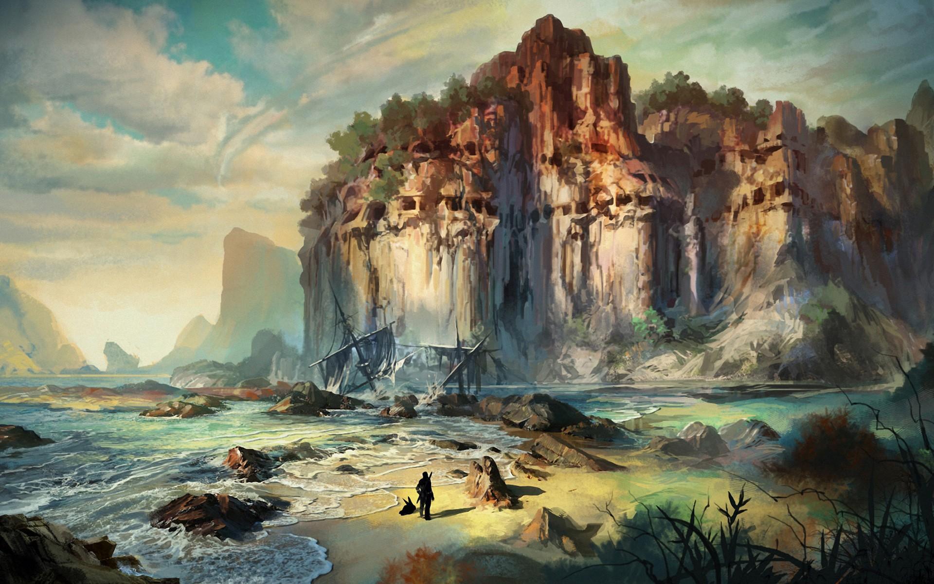 фэнтези картинки природа море выбрать другой