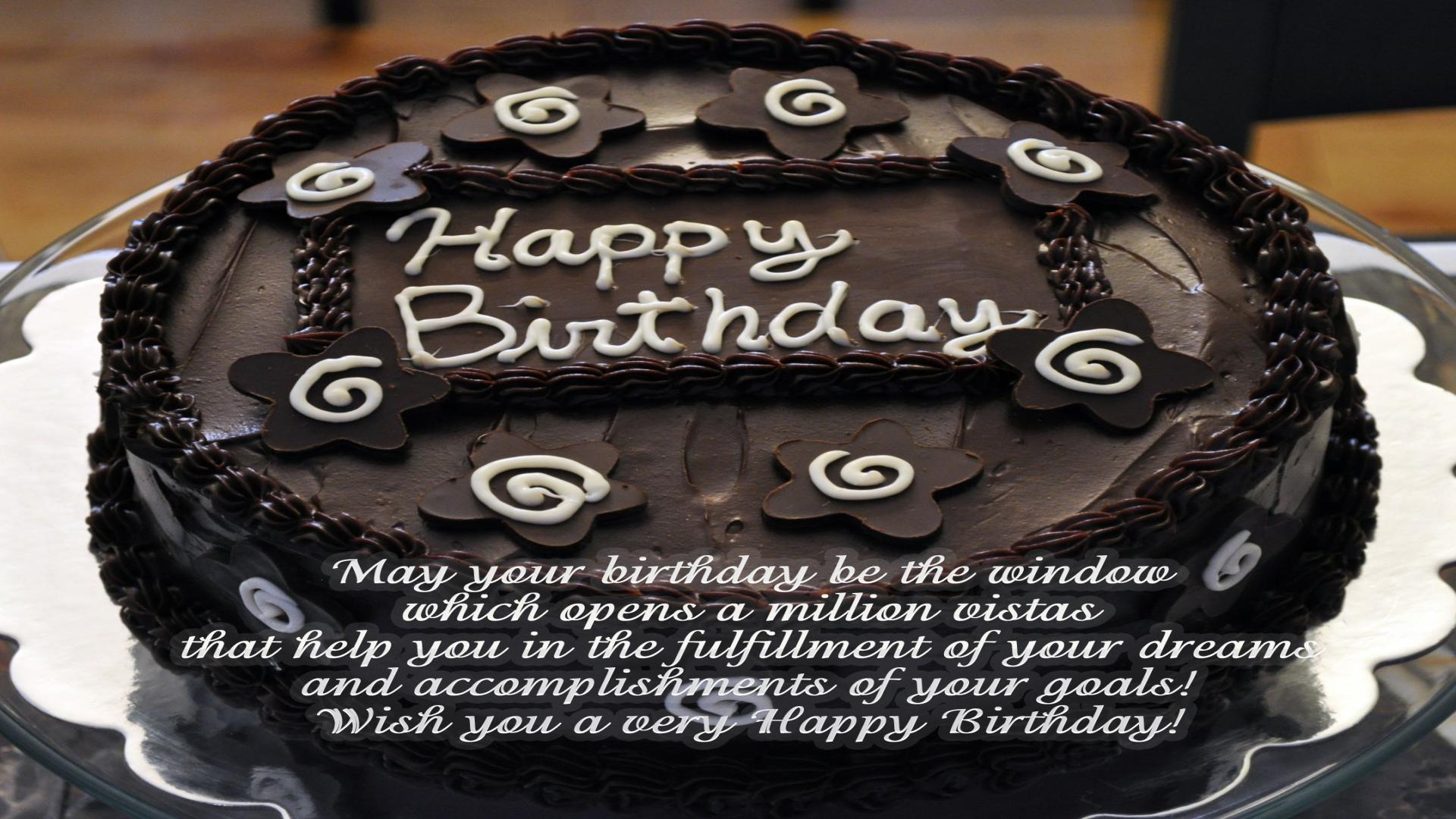 Happy Birthday Chocolate Cake Brithday Cake