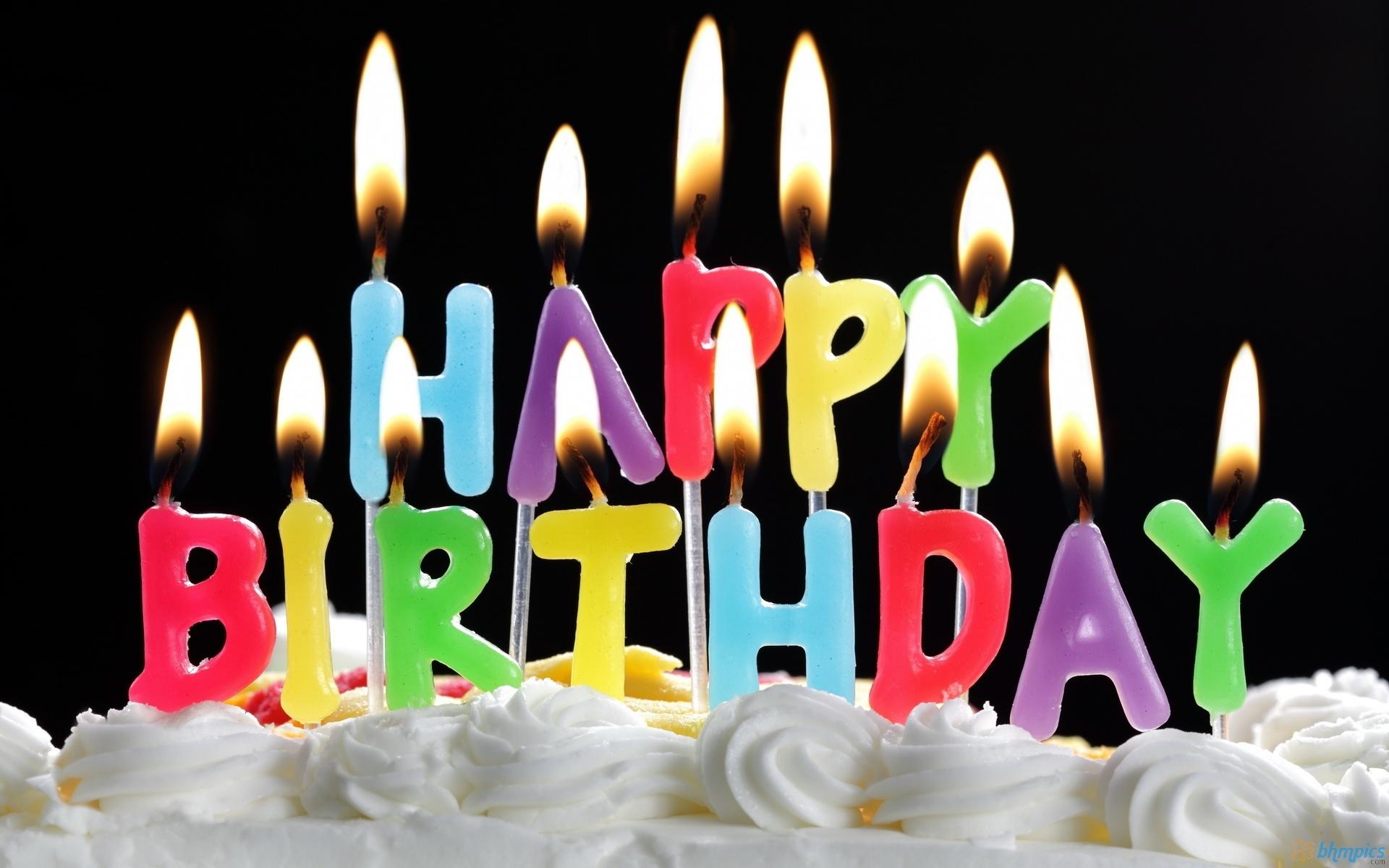 Открытки с днем рождения свечи 665