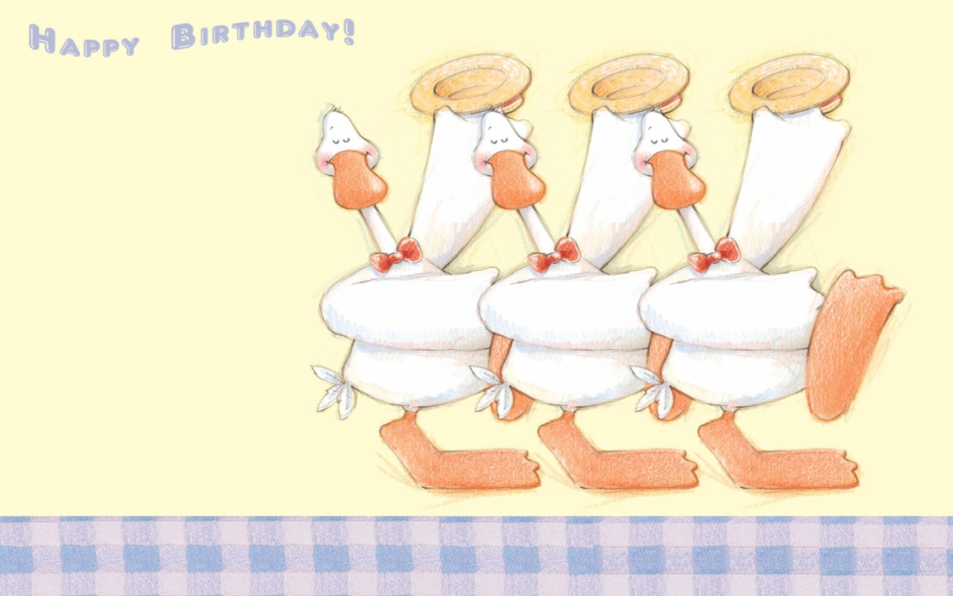 Картинки по запросу день рождения гусь