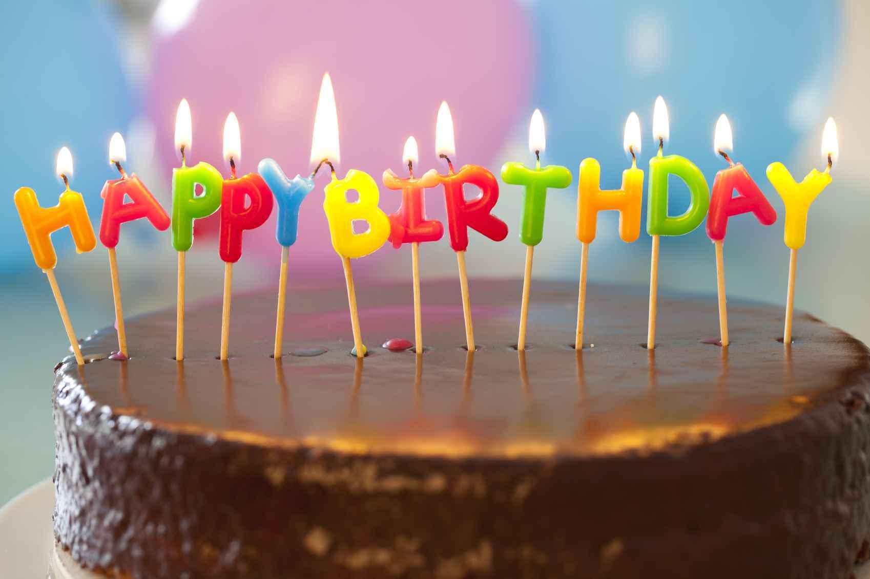 Открытки с тортиком день рождения