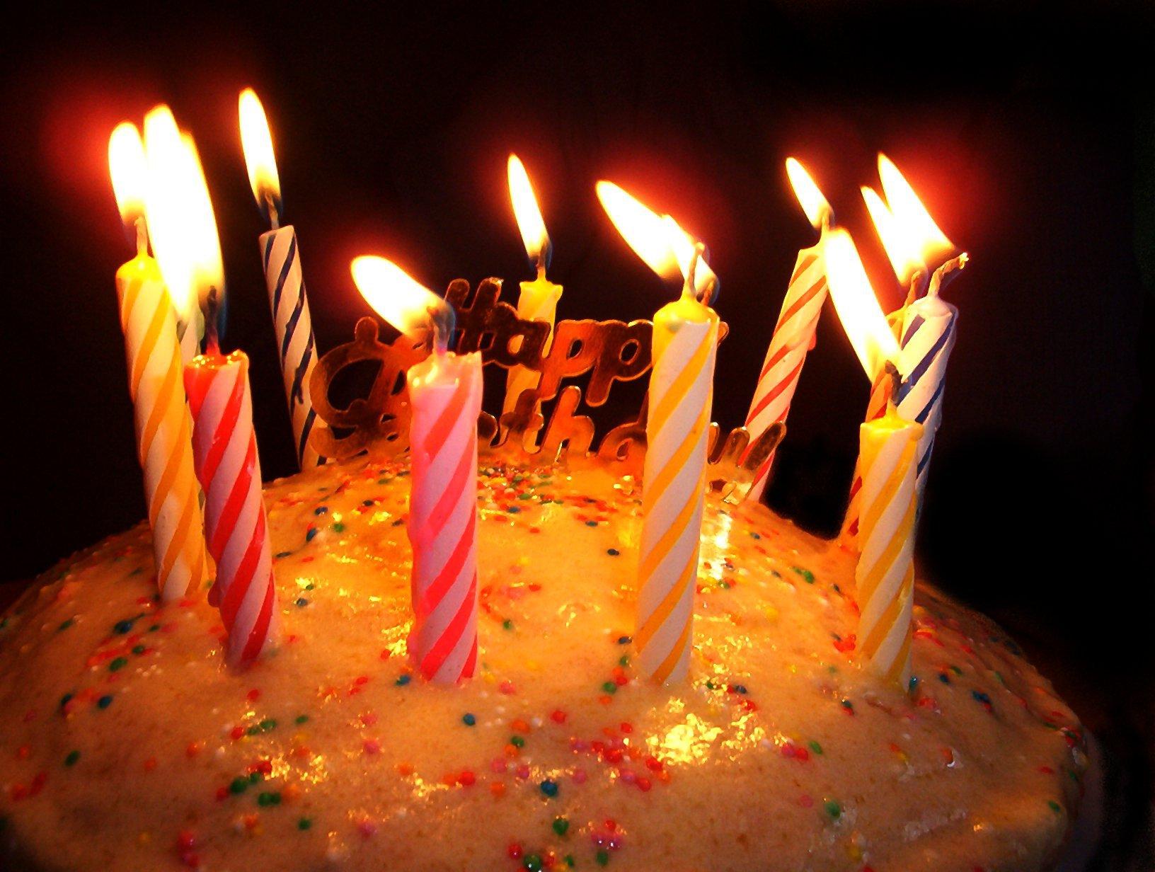 Днем, картинки с тортиком на день рождения