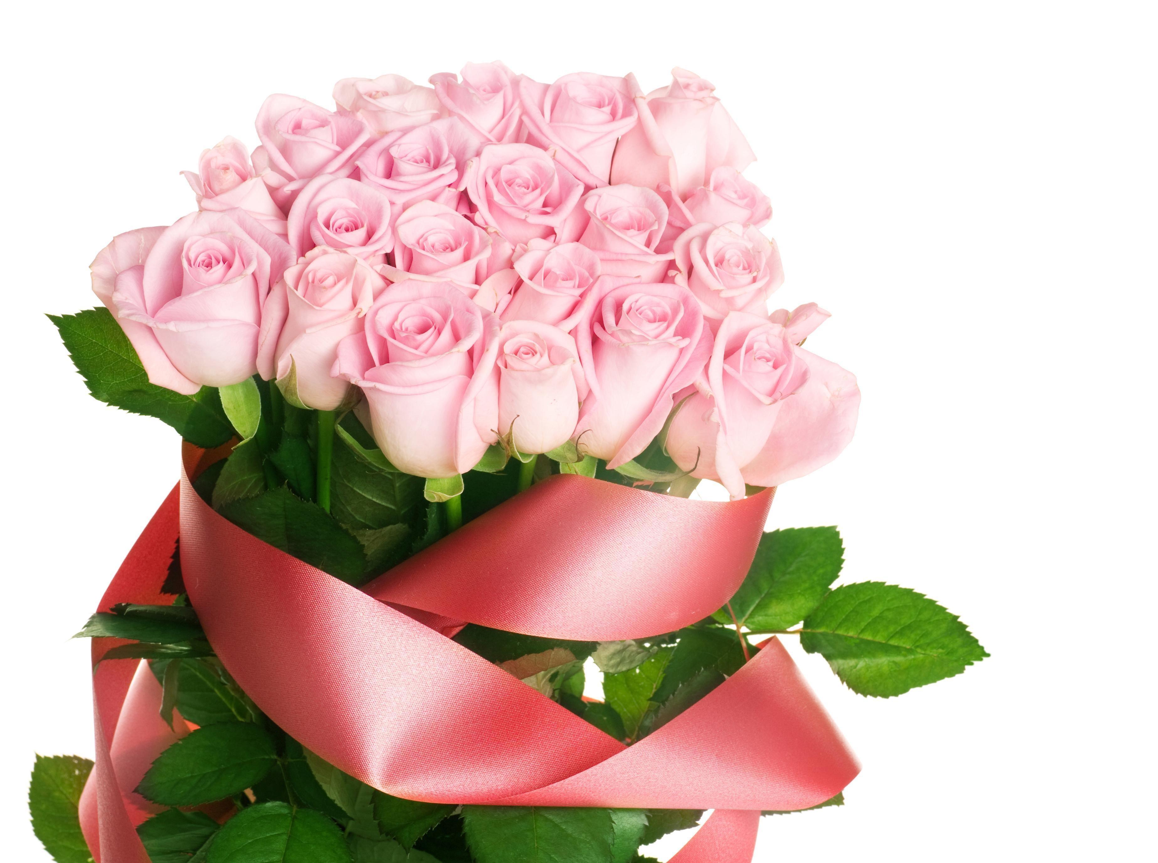 Прикол картинки, открытка с букетом розовых роз