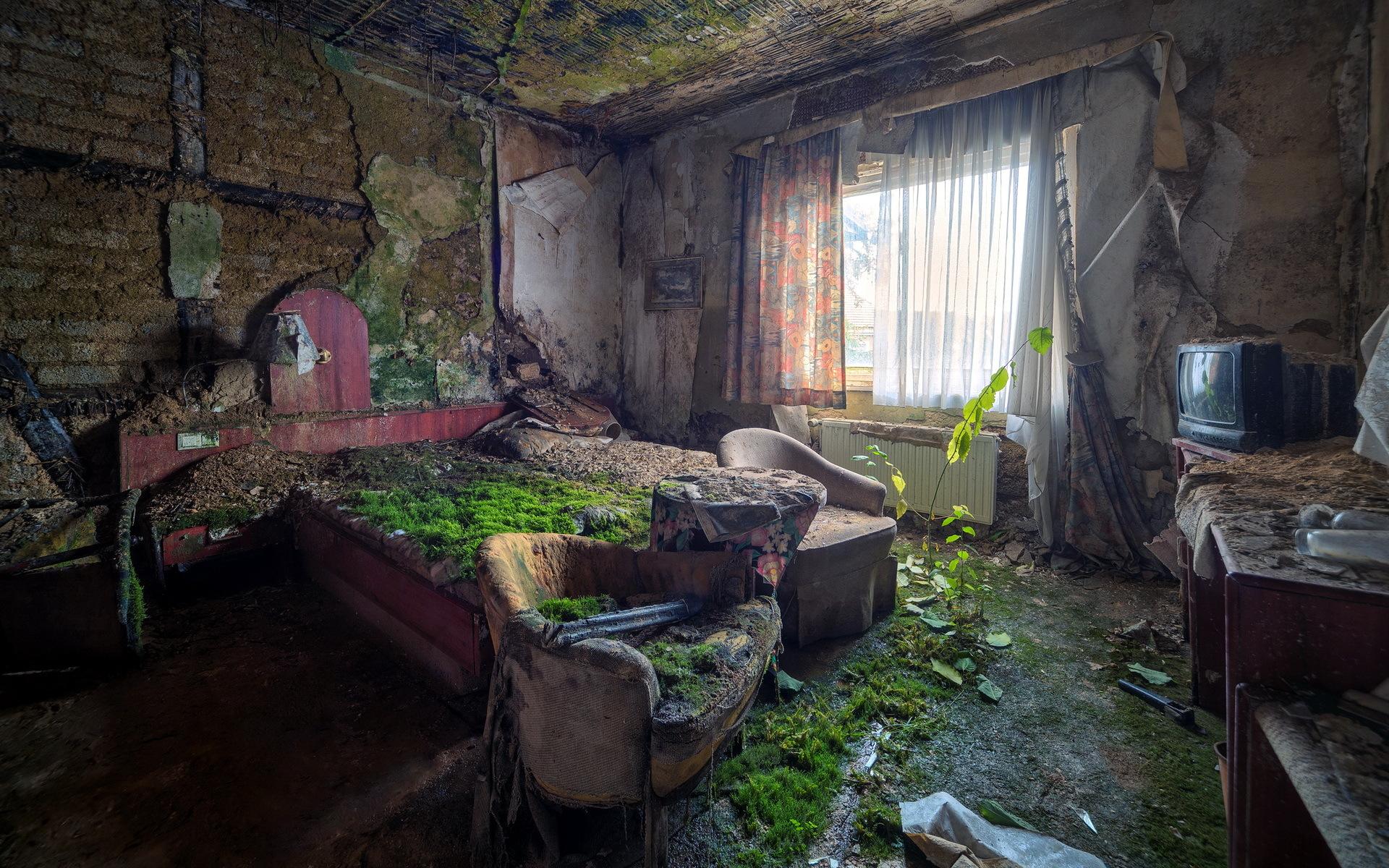 Ретро комната