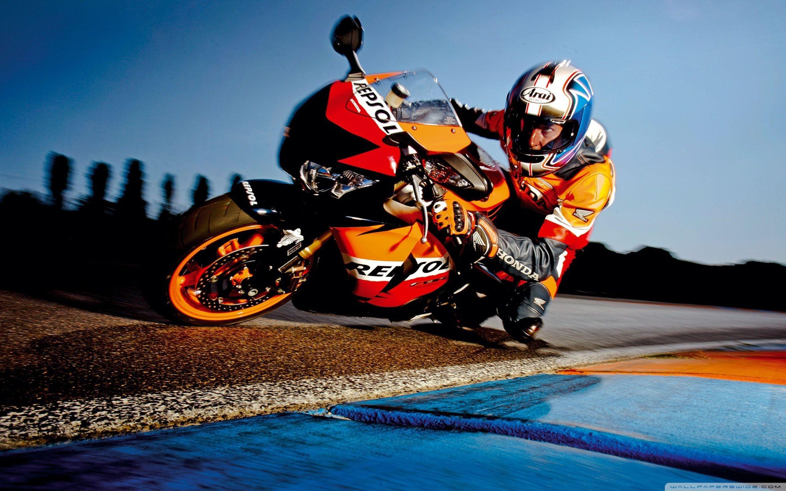 хонда мотоцикл гонки в