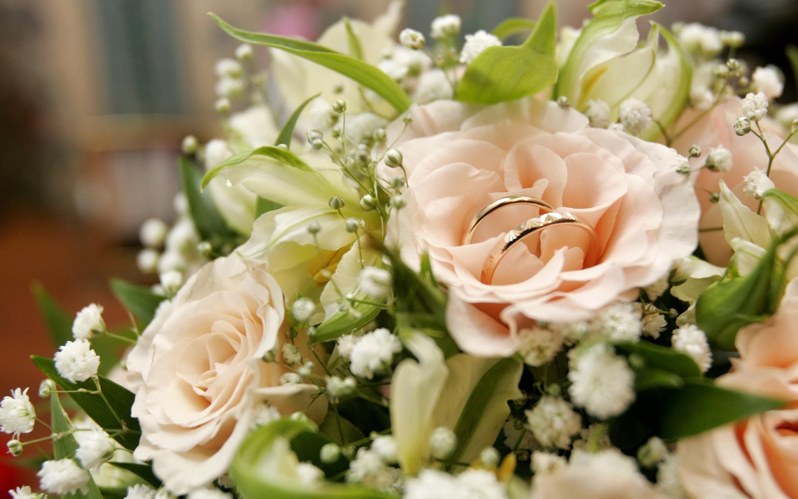 открытки с цветами на день свадьбы