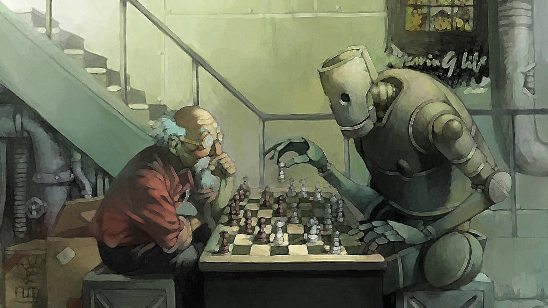 Zastaki.com - Chess, robots, grandfather, boxes