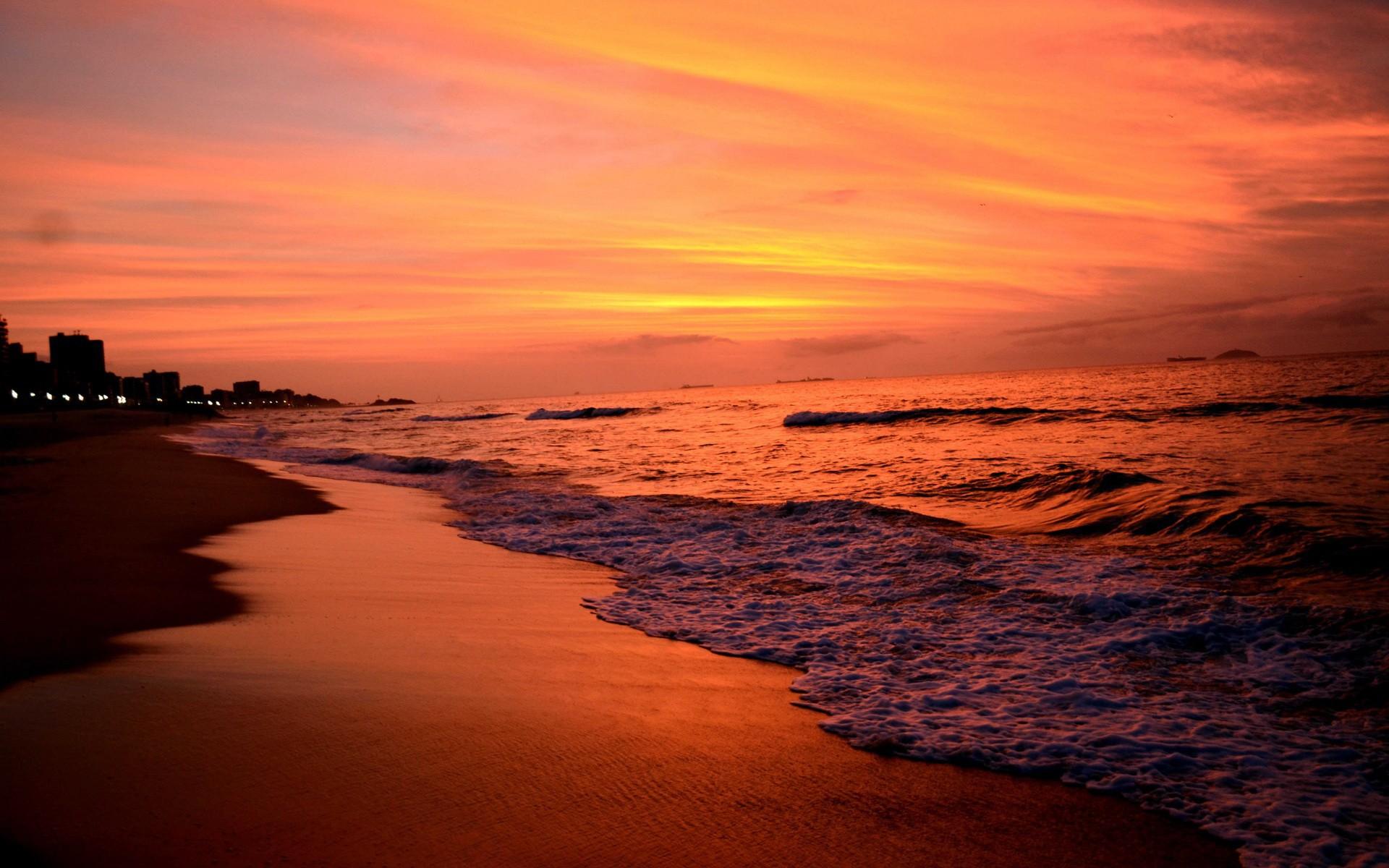 картинки закат на берегу моря десантники