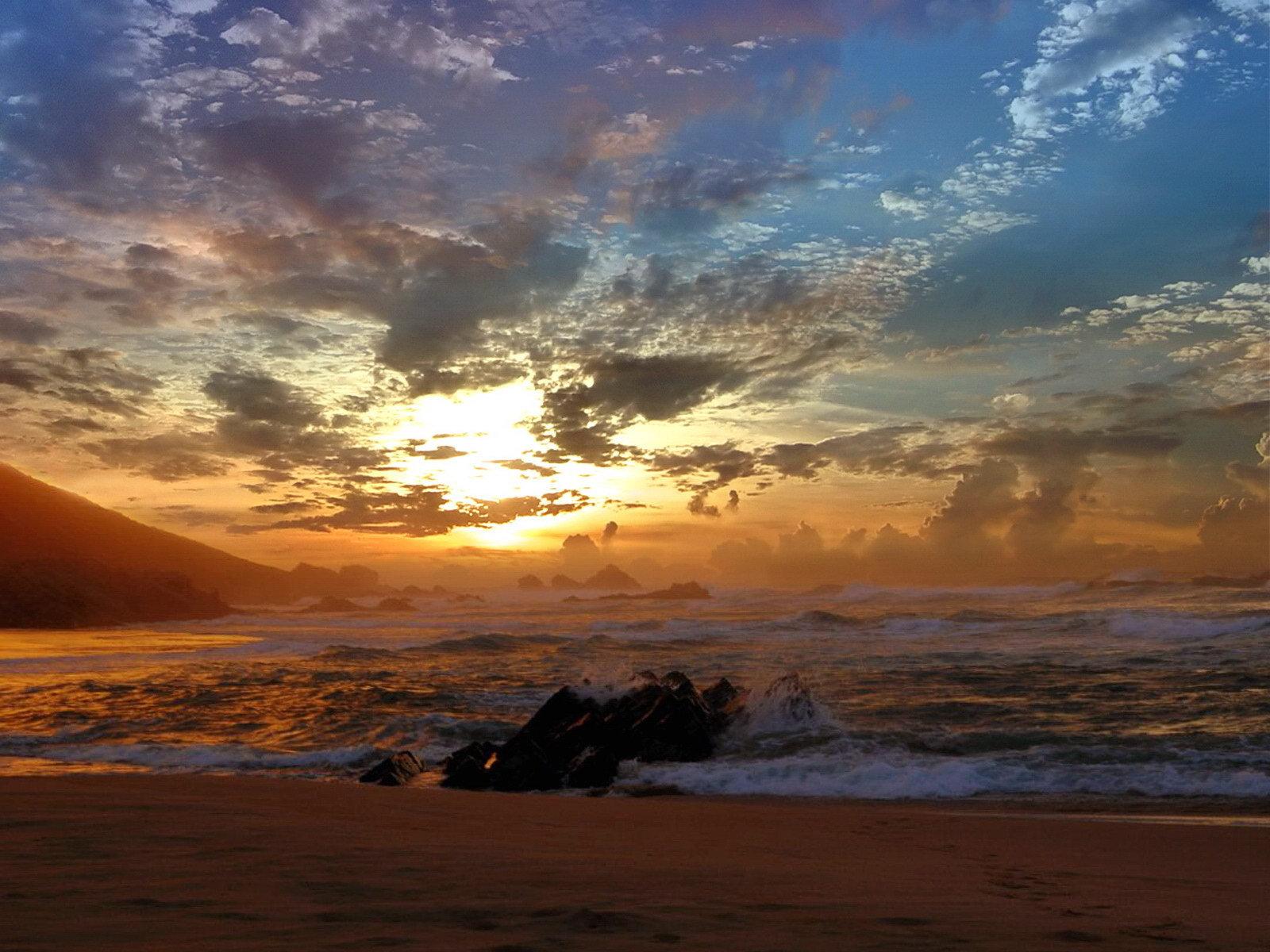 Фото девушки закат на море