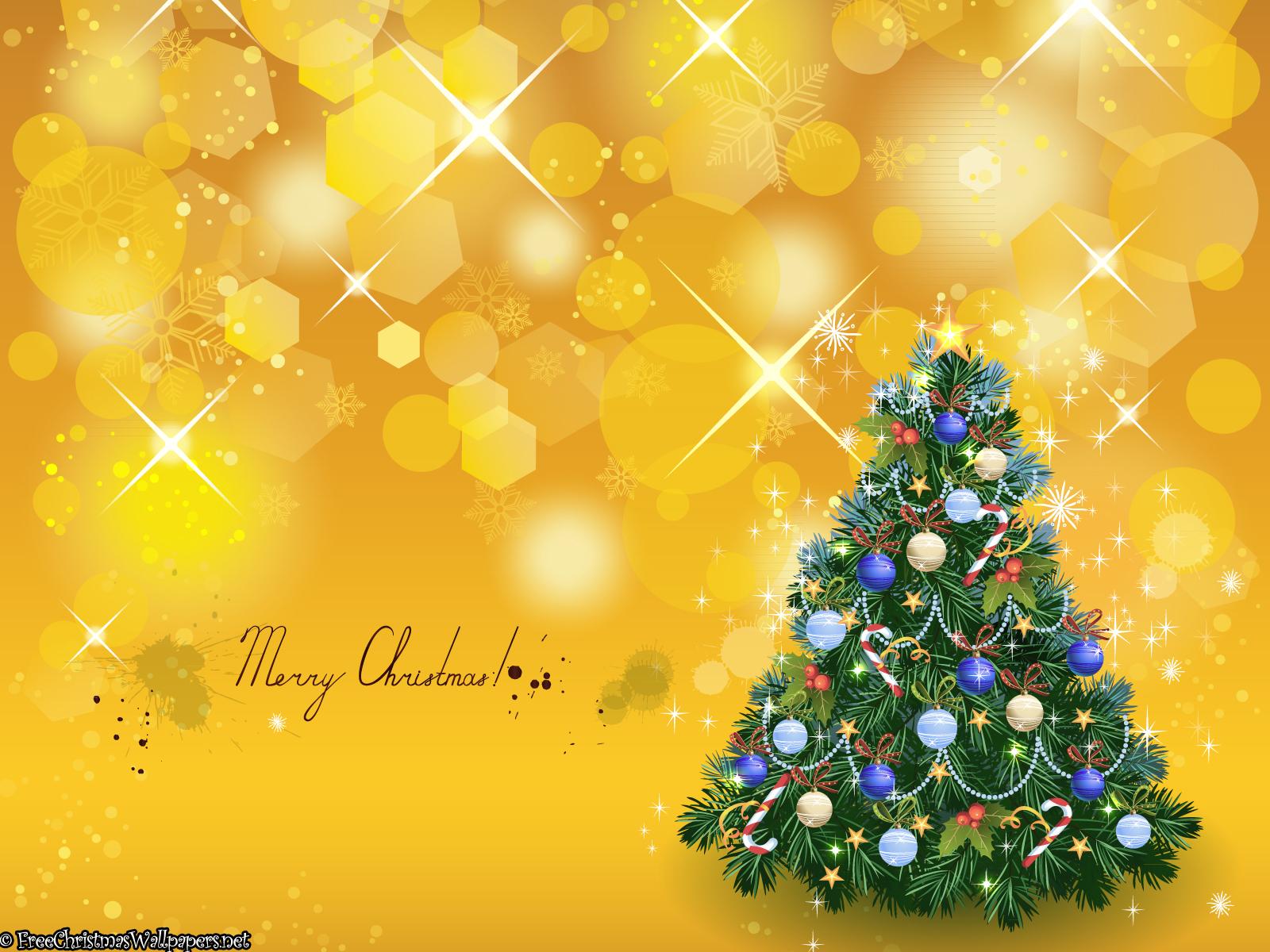 Желтые открытки с новым годом, для