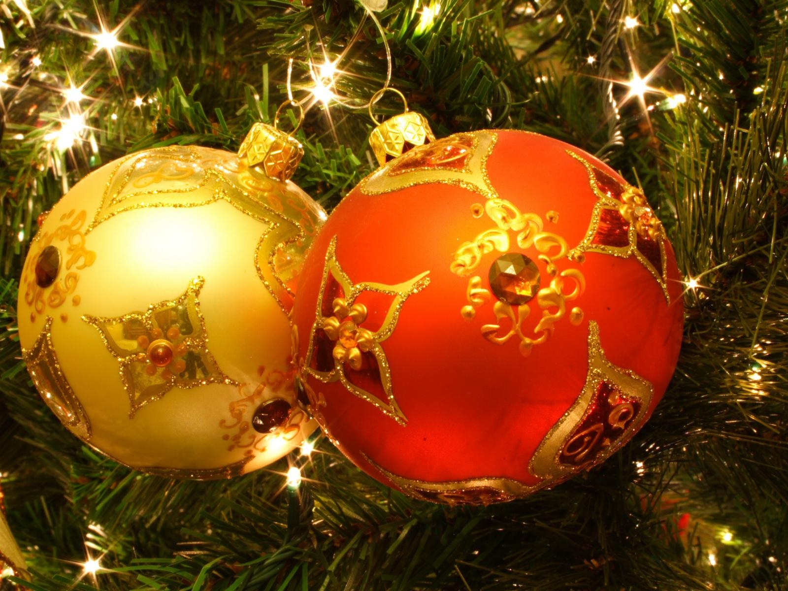 Днем вдв, картинки большие новогодние шары