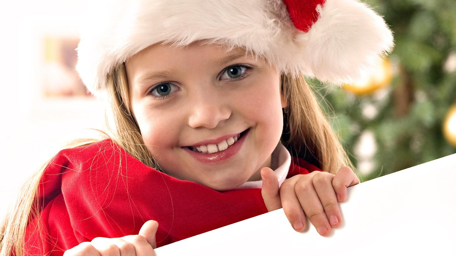 Новый год картинка девочка