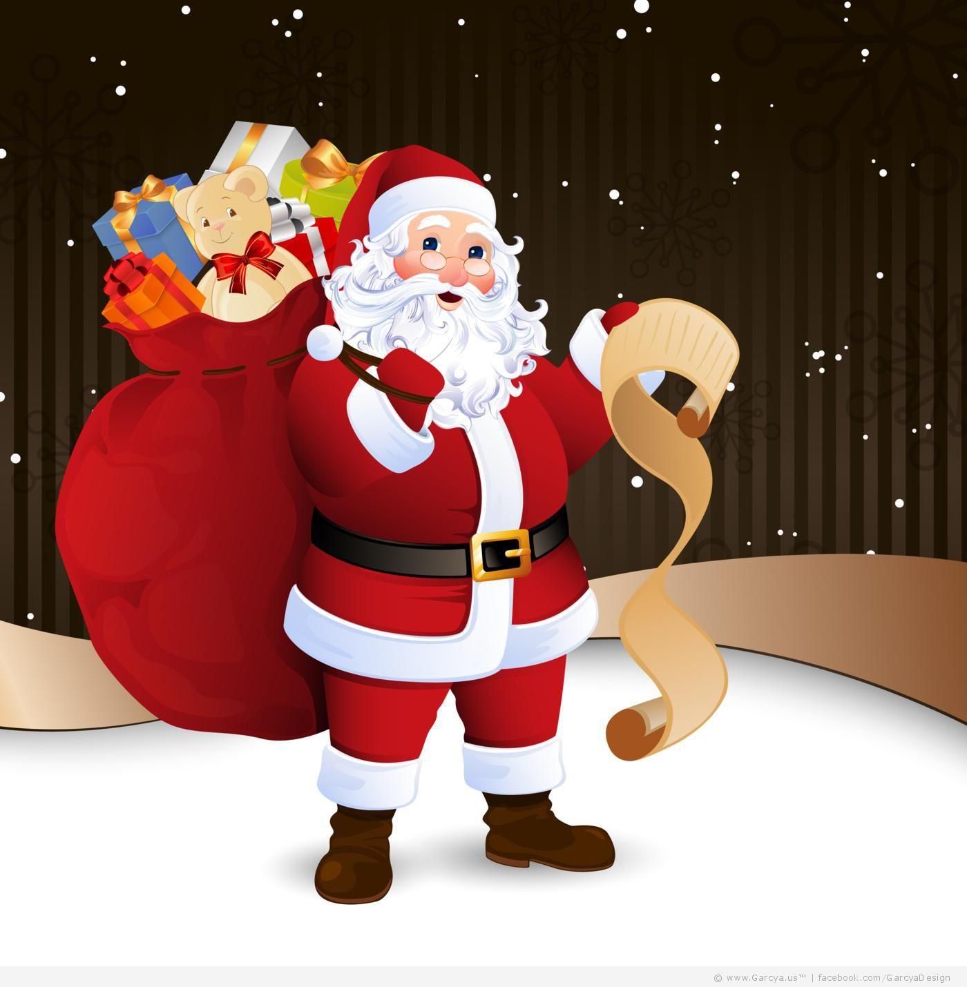 santa claus red nose - Santa Claus Red