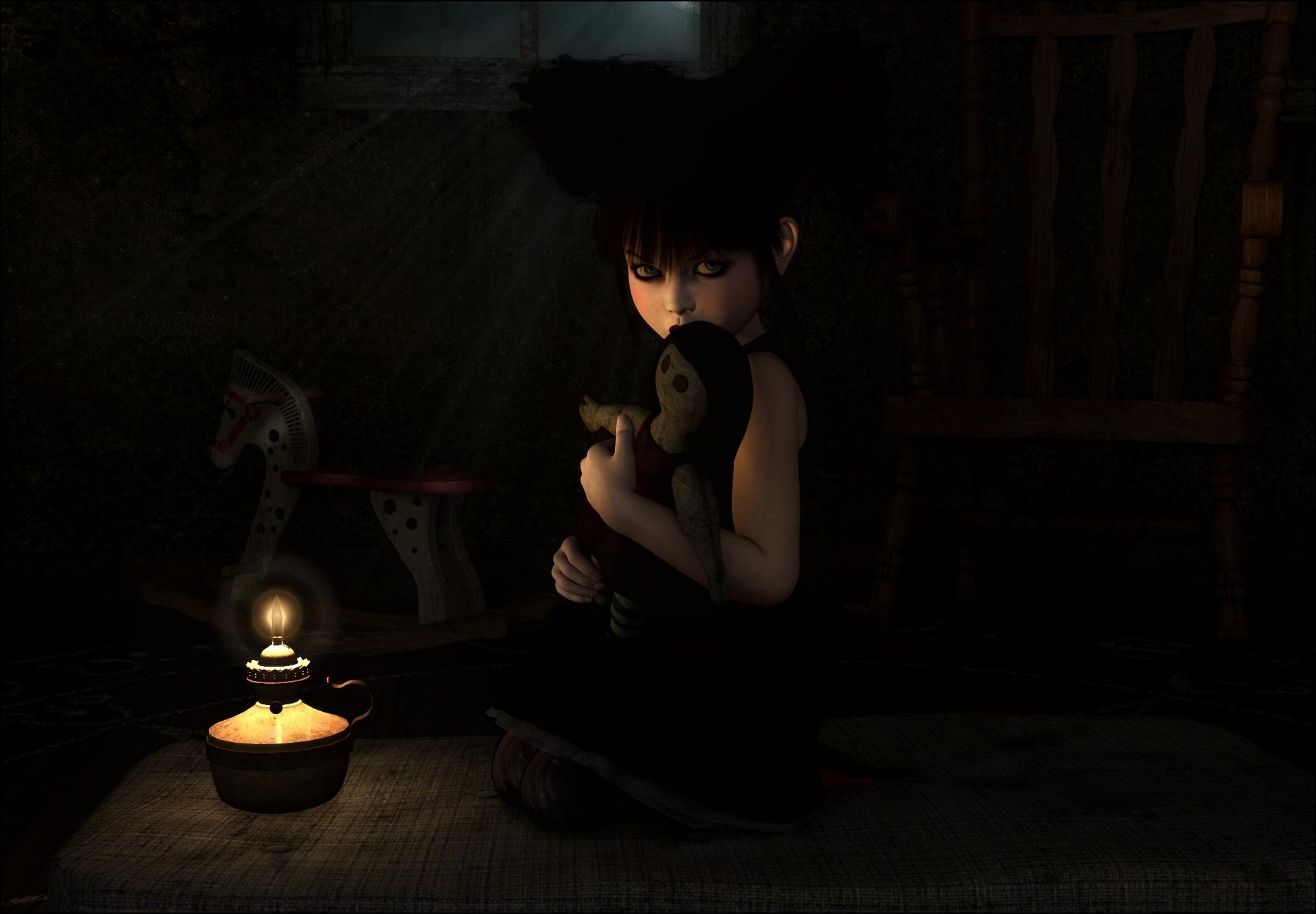 девочка на ночь