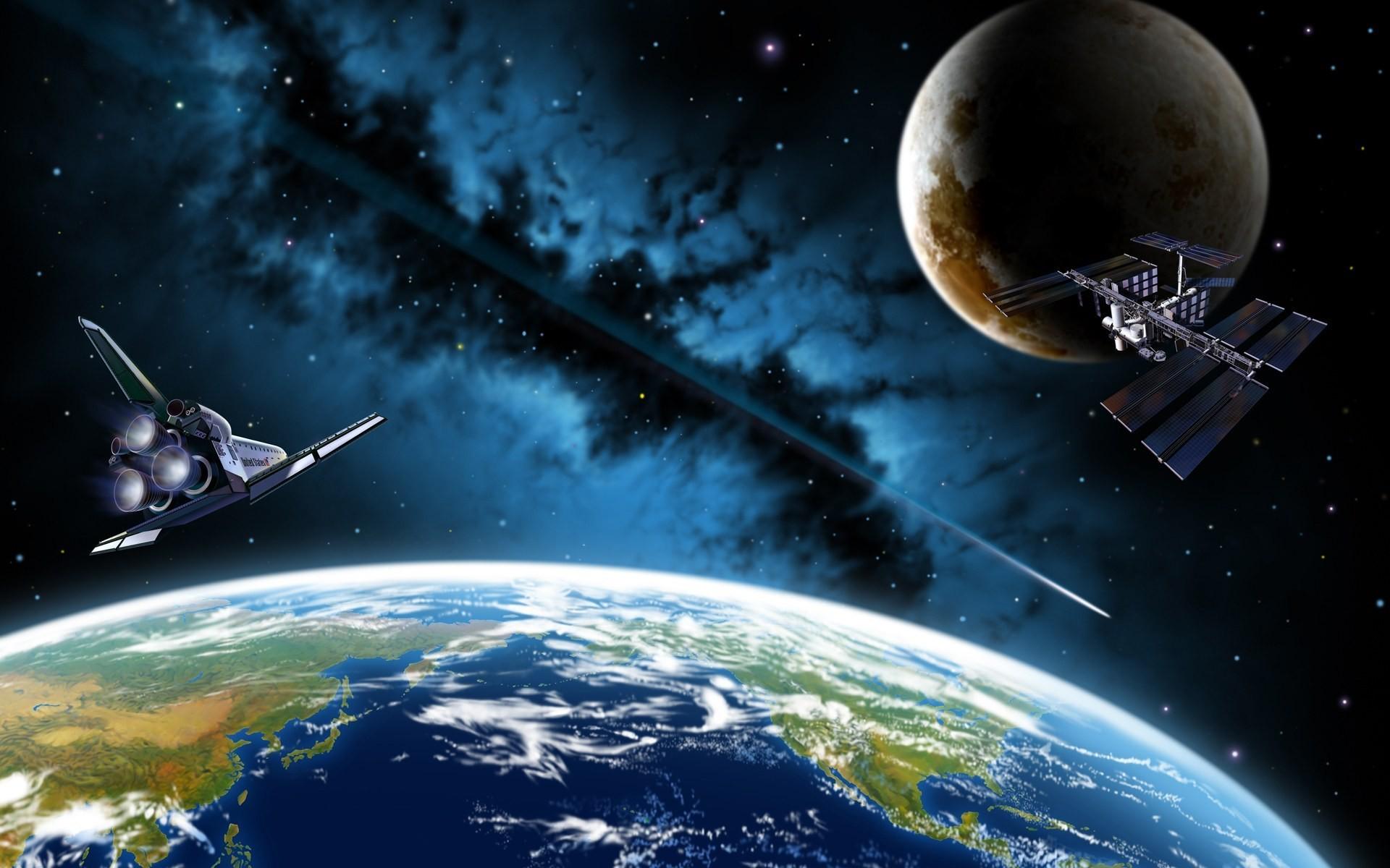 Картинки с космической темой