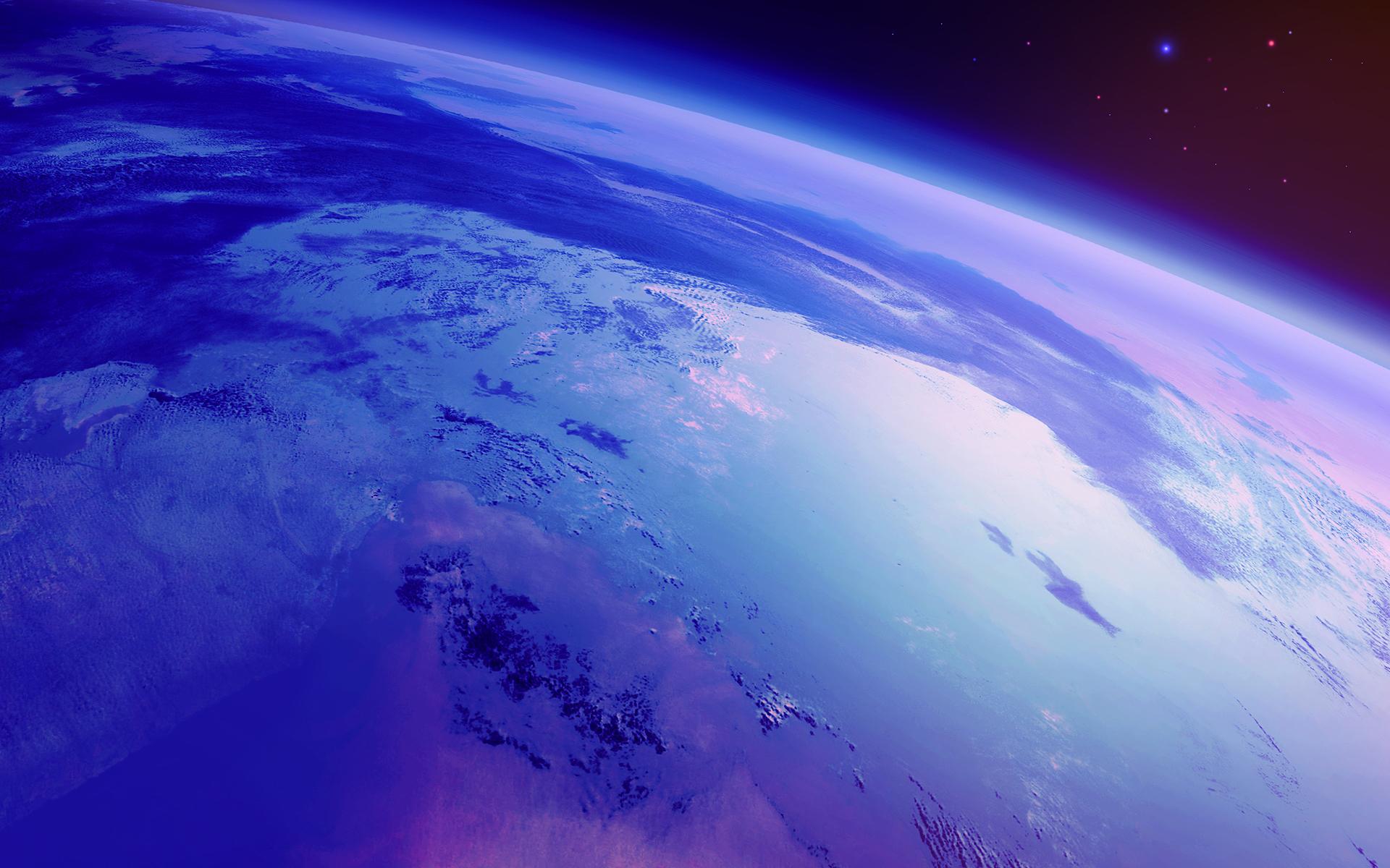 venus atmosphere vs earth atmosphere - HD1920×1200