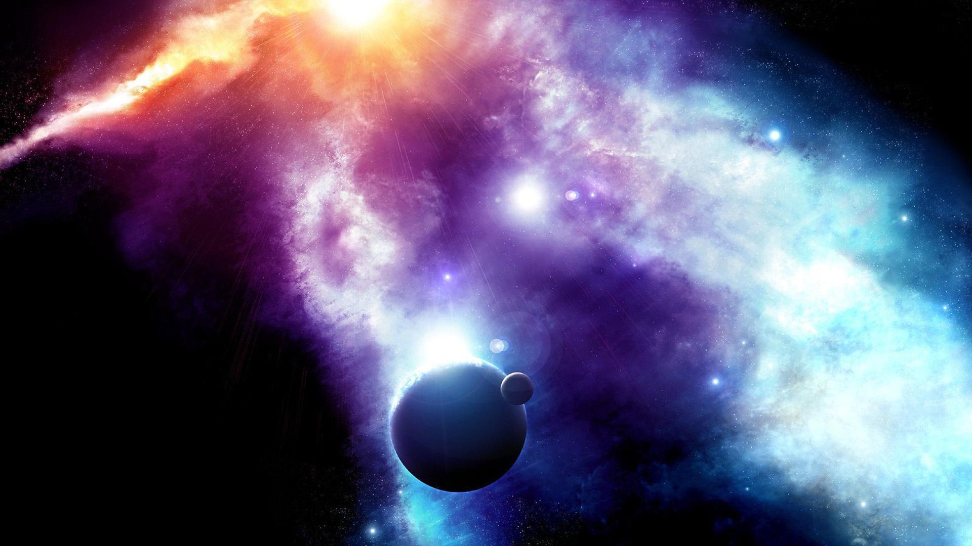 Обои хаббл планеты звезды