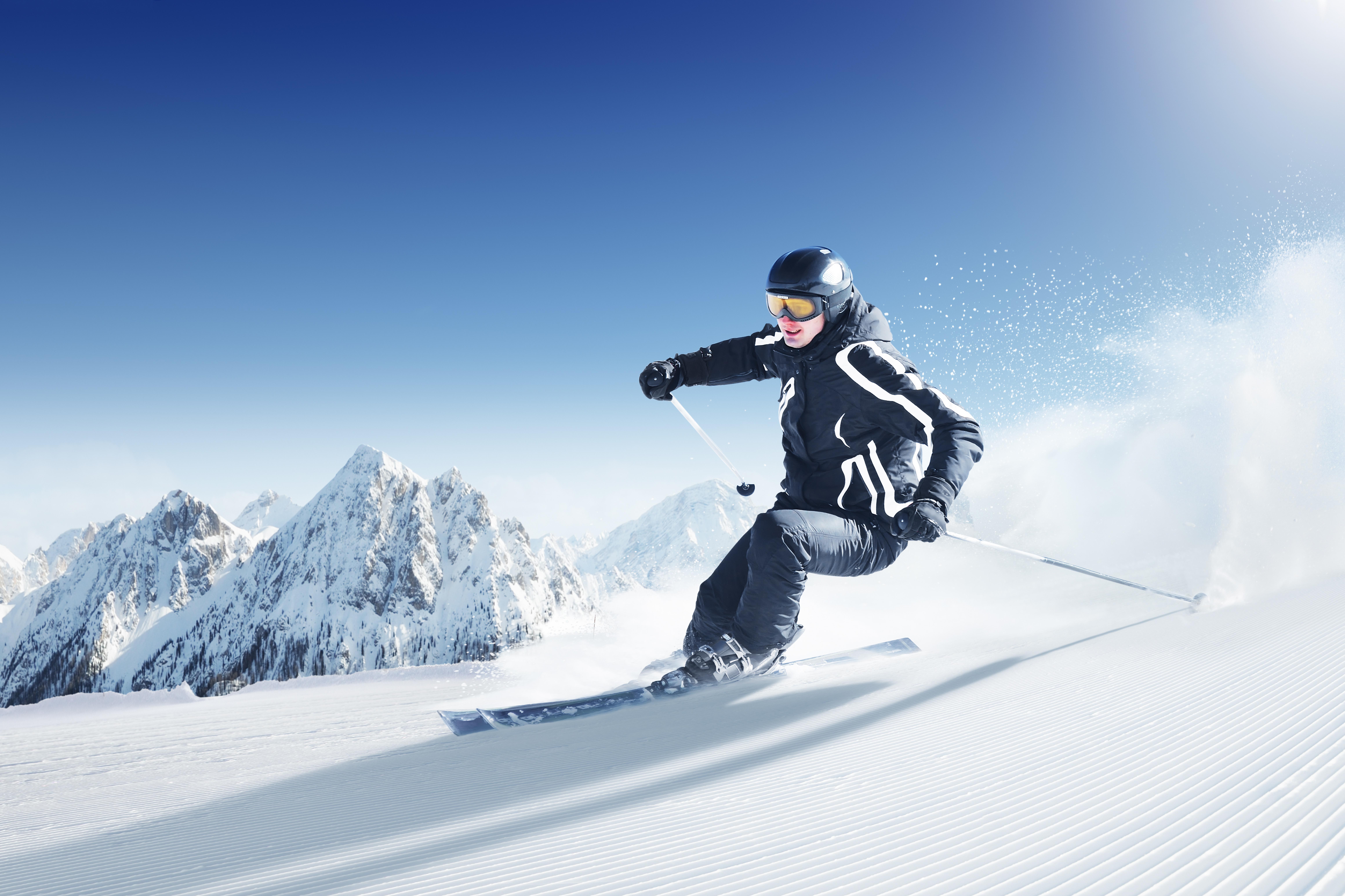 горнолыжный спорт фото теперь
