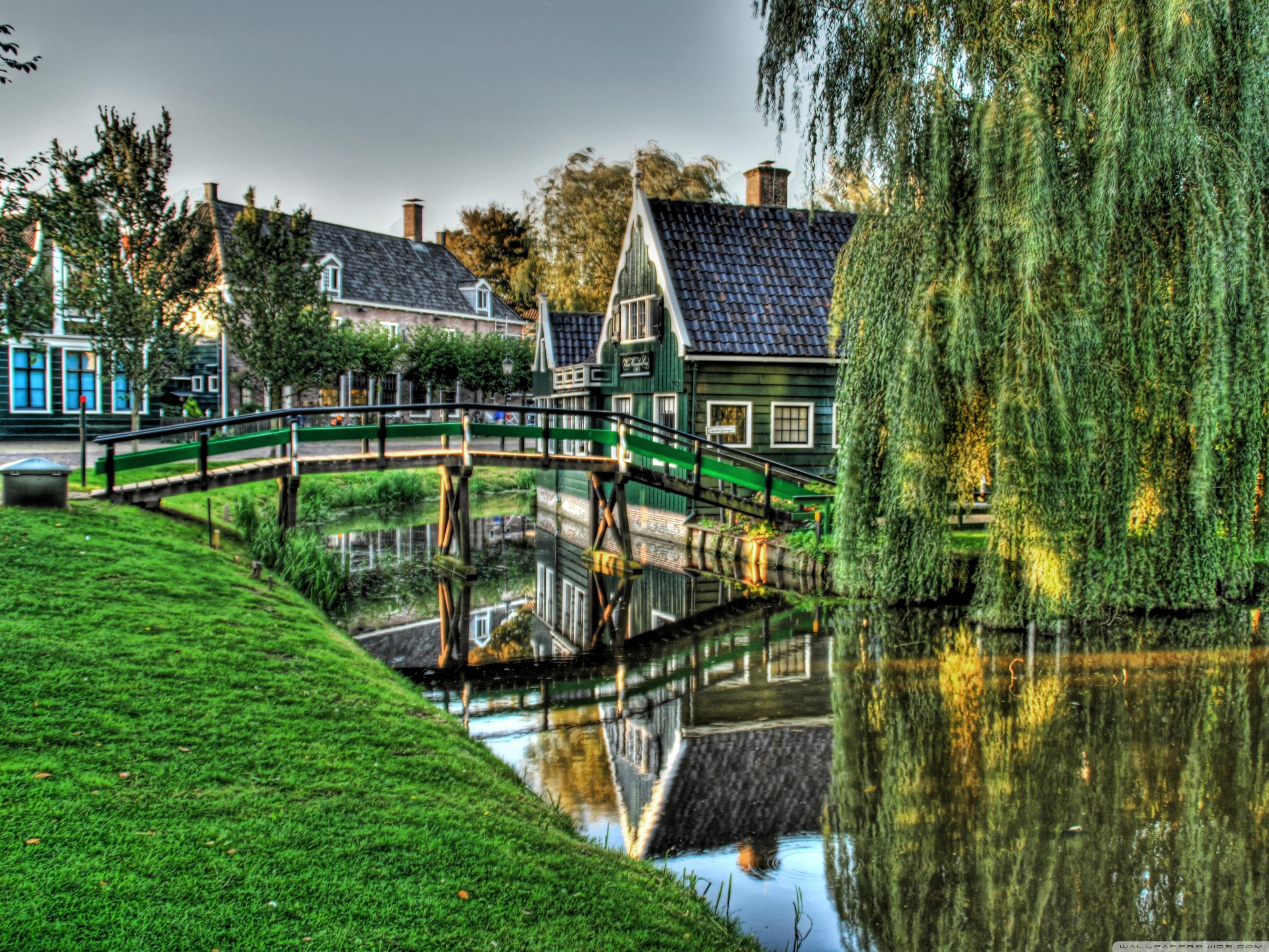 Фото на рабочий стол красивая деревня