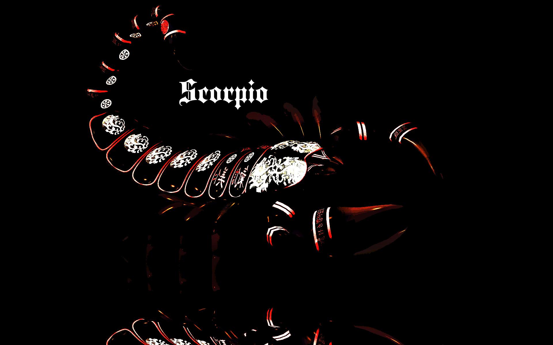 обои на телефон знаки зодиака скорпион сажание кол