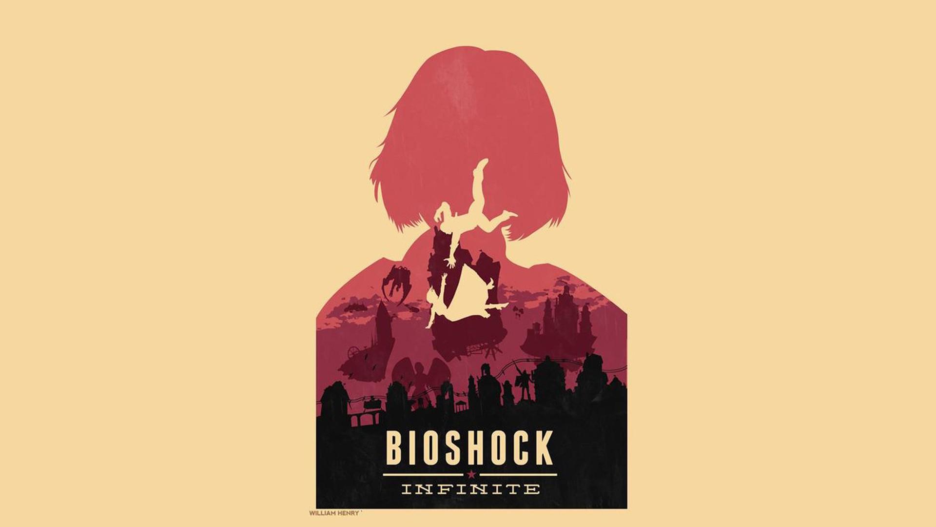 bioshock infinite картинки на рабочий стол