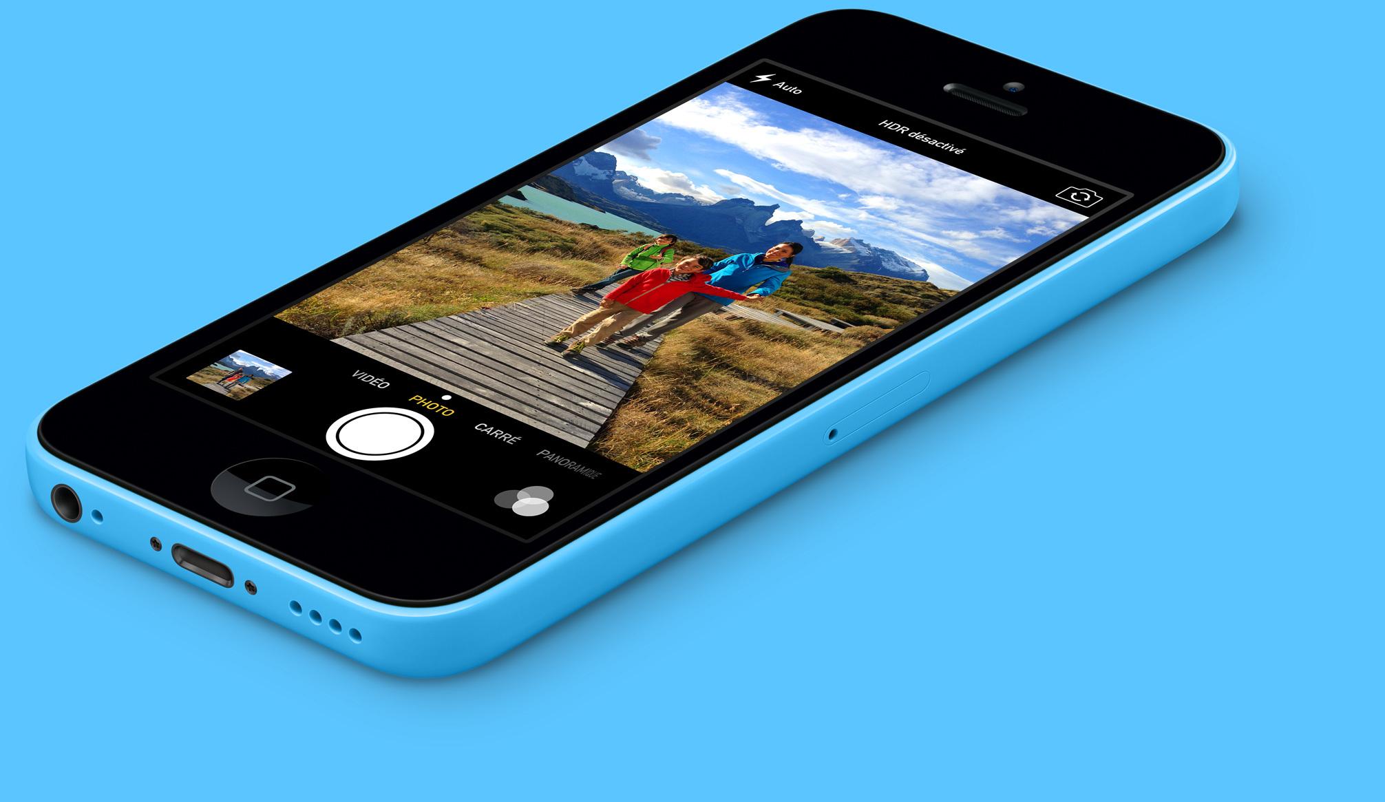 Iphone 5c In Blue