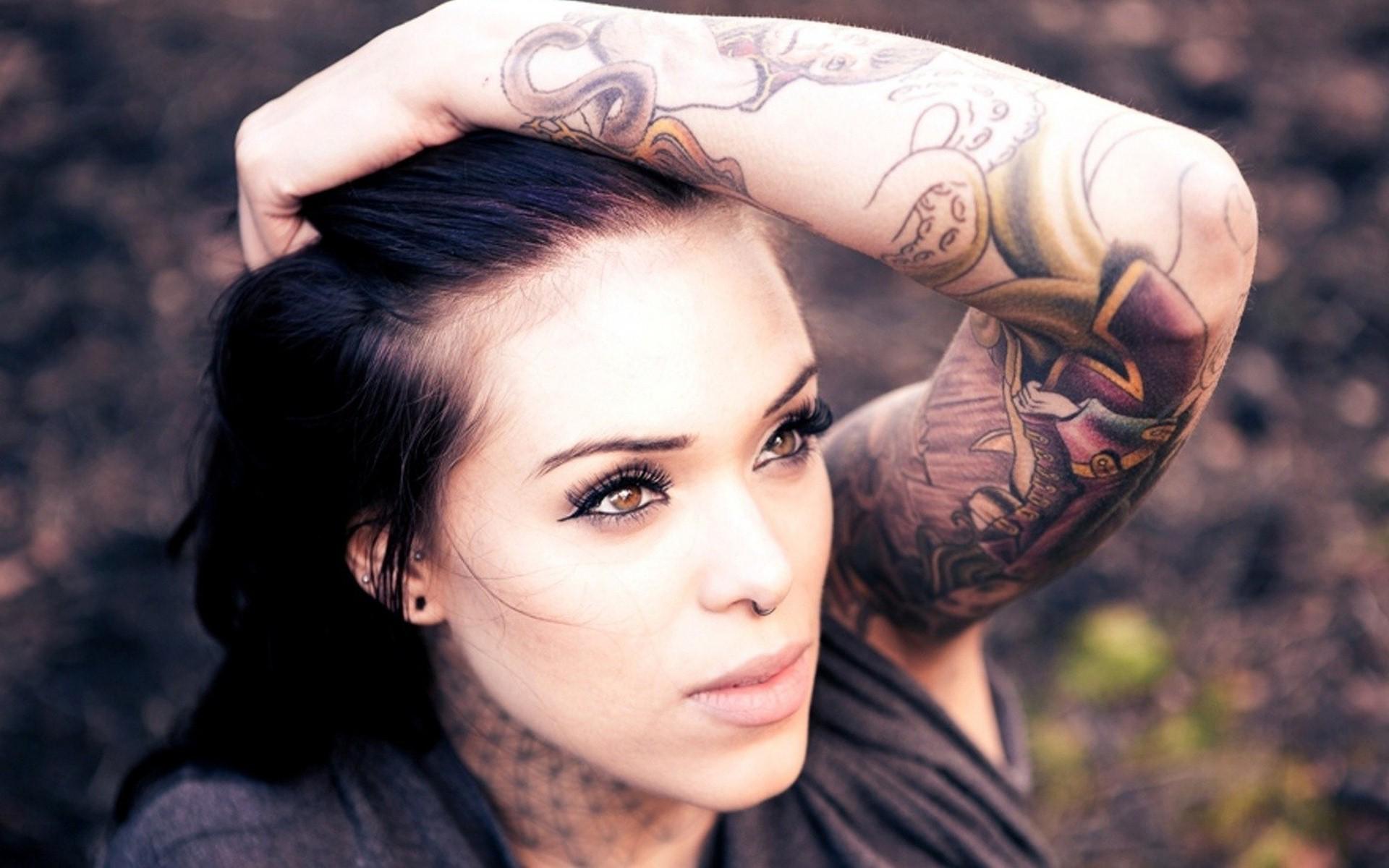 Girl Arm Tattoos Gallery