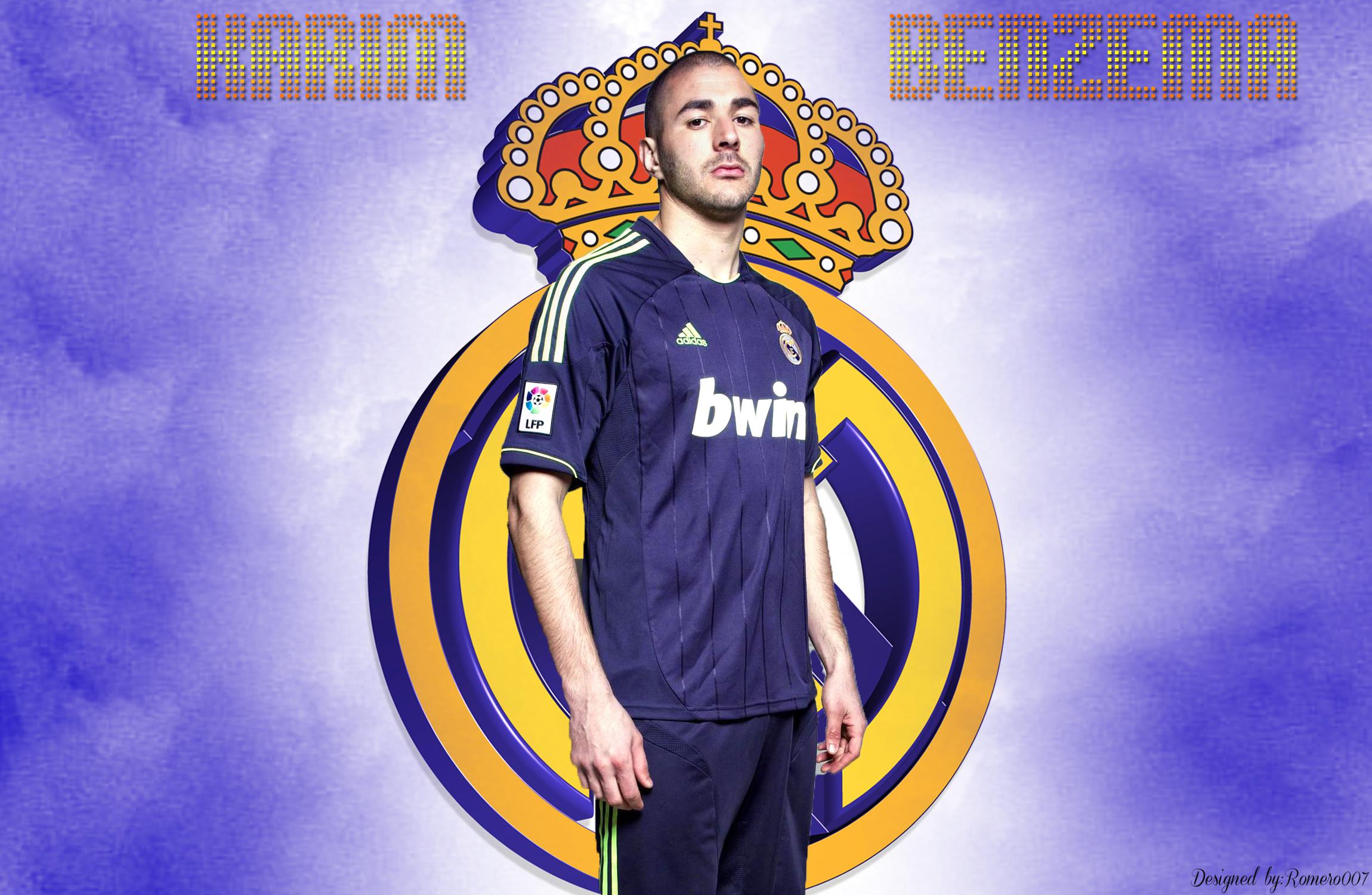 Real Madrid Benzema Wallpaper Real Madrid Karim Benzema