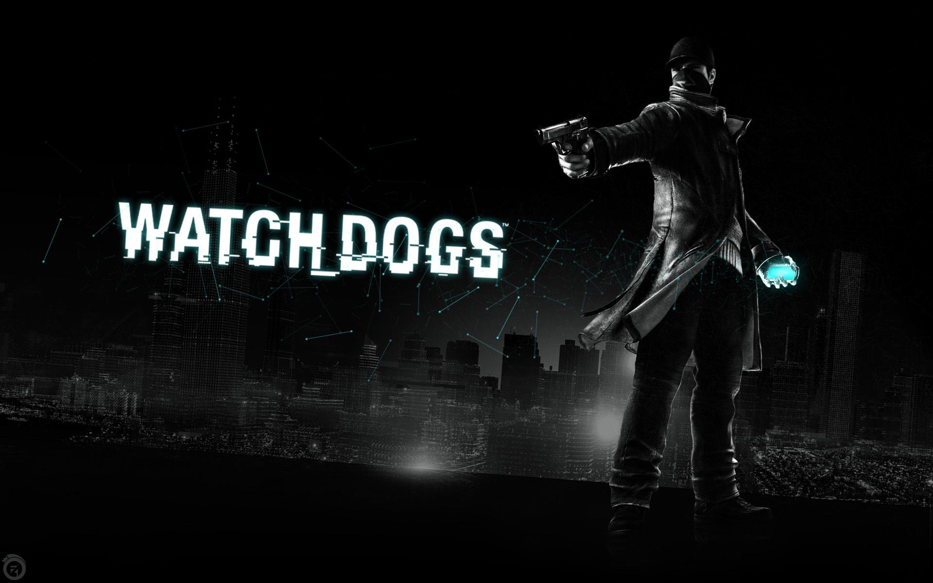Watch Dogs: черный город - обои для рабочего стола, картинки, фото