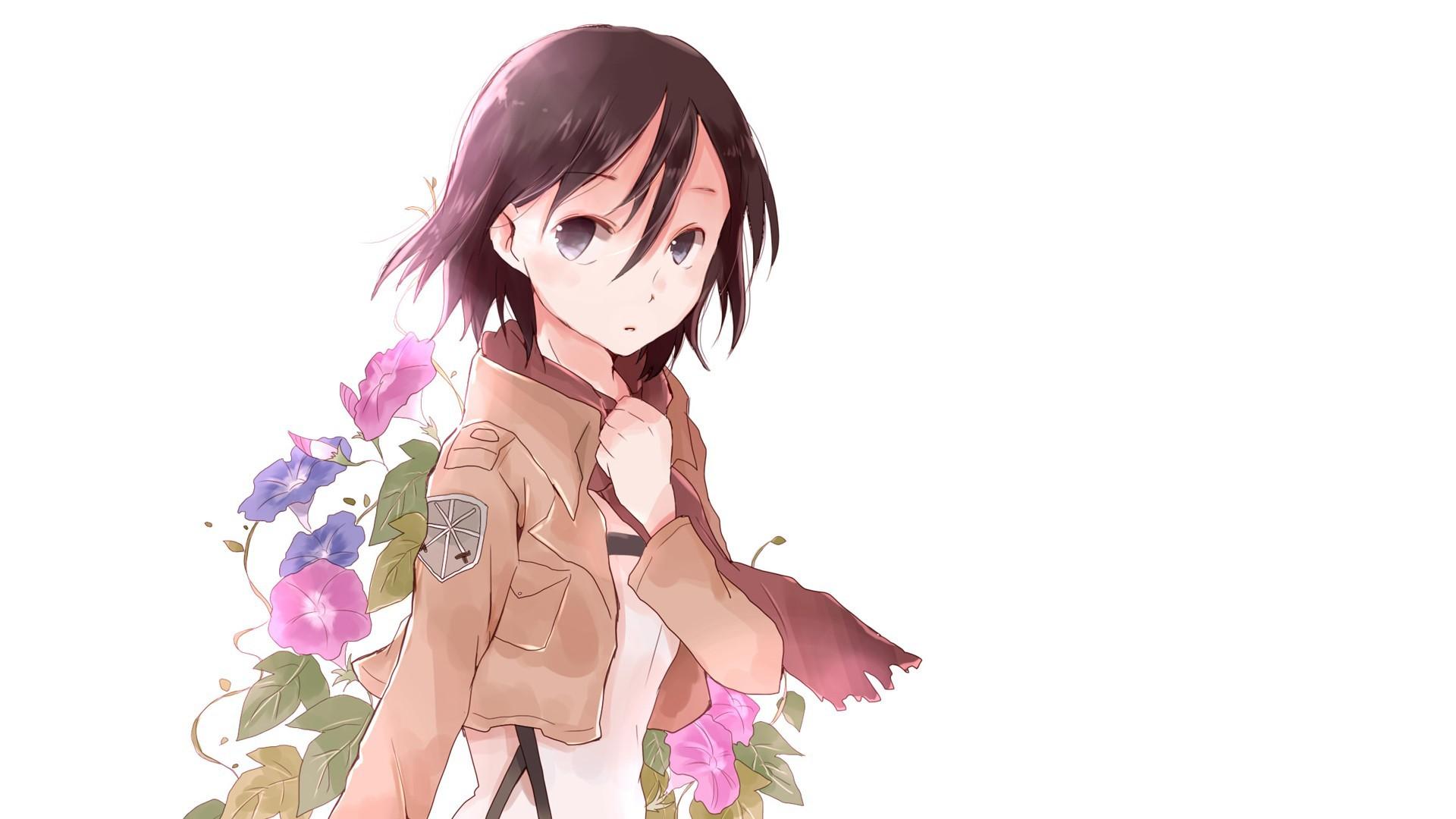 фото на белом фоне аниме