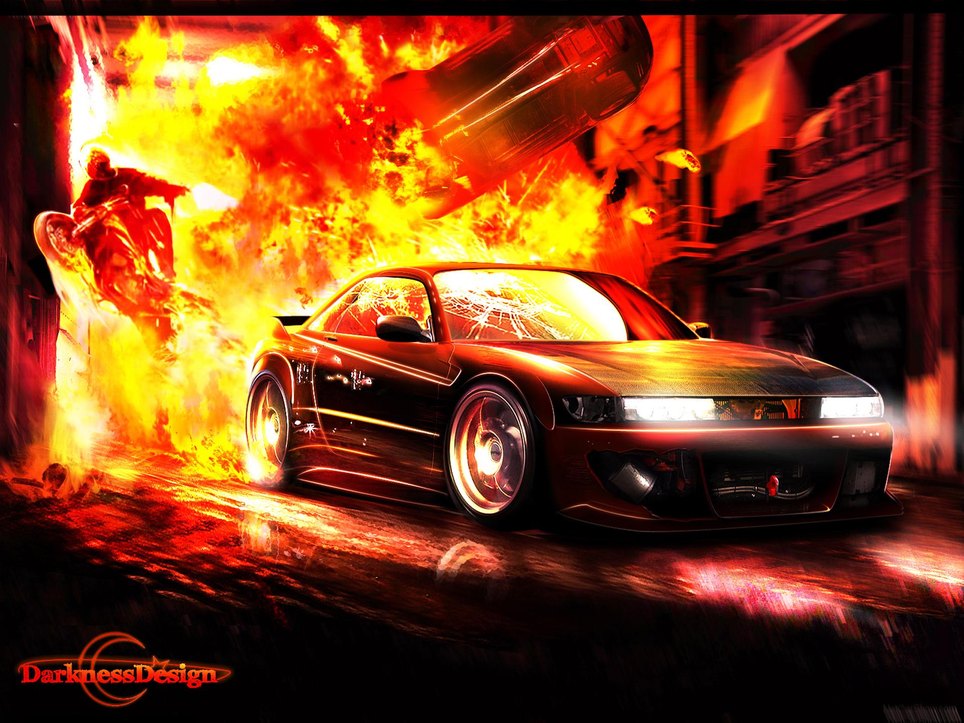 оттенками картинки машин огнем скажу, отделка