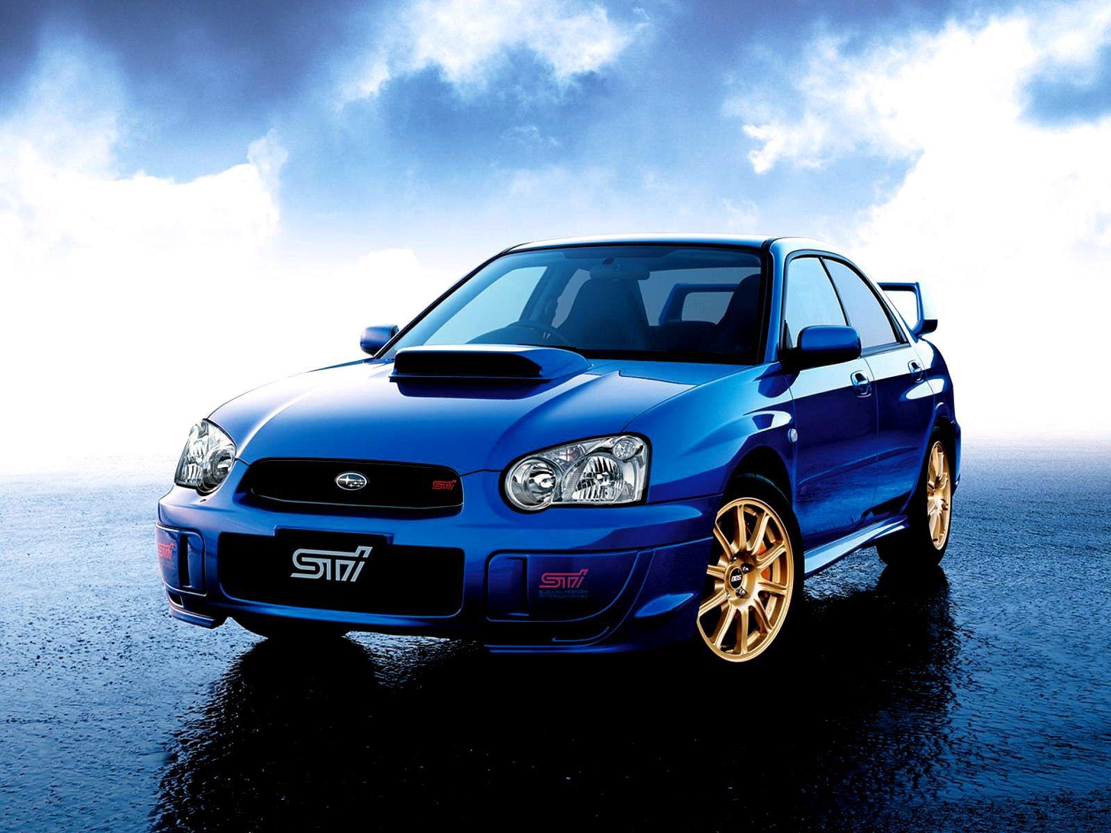Car Subaru Impreza Wrx Sti On The Road Wallpapers And