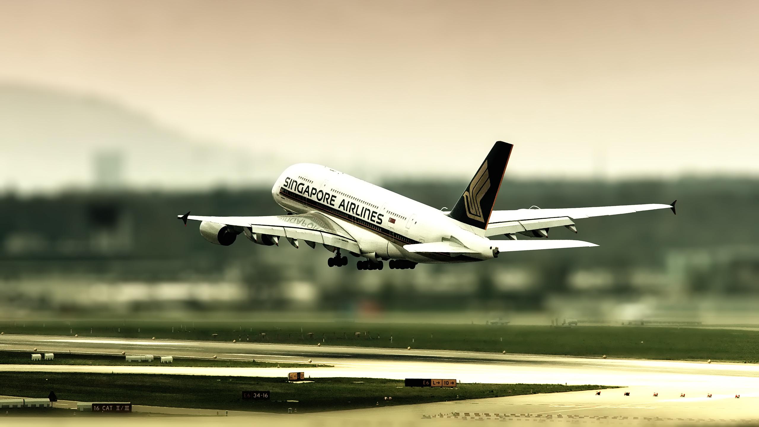пассажирский самолет взлет картинка