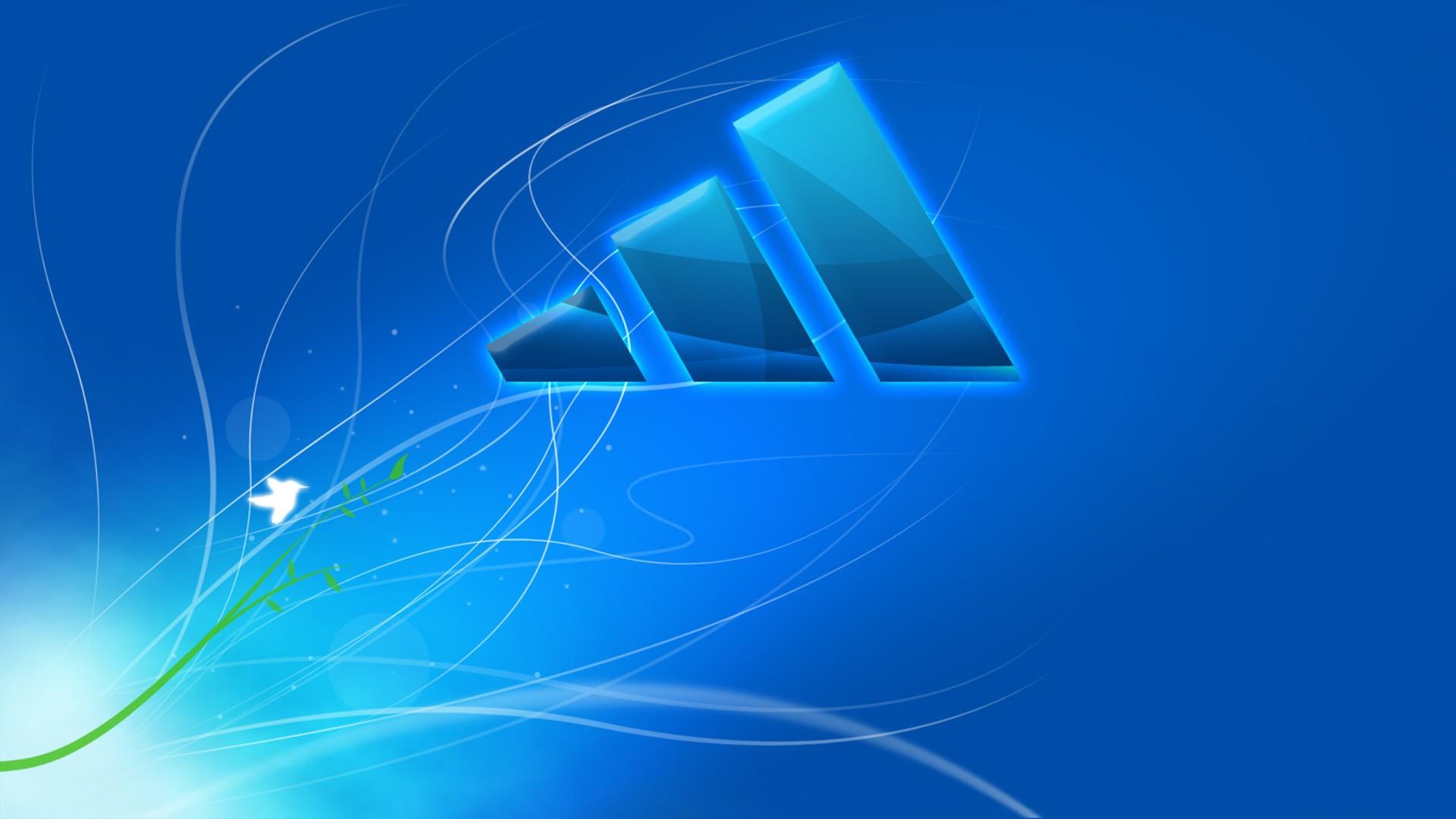 adidas blue logo 1920x1080 - photo #20