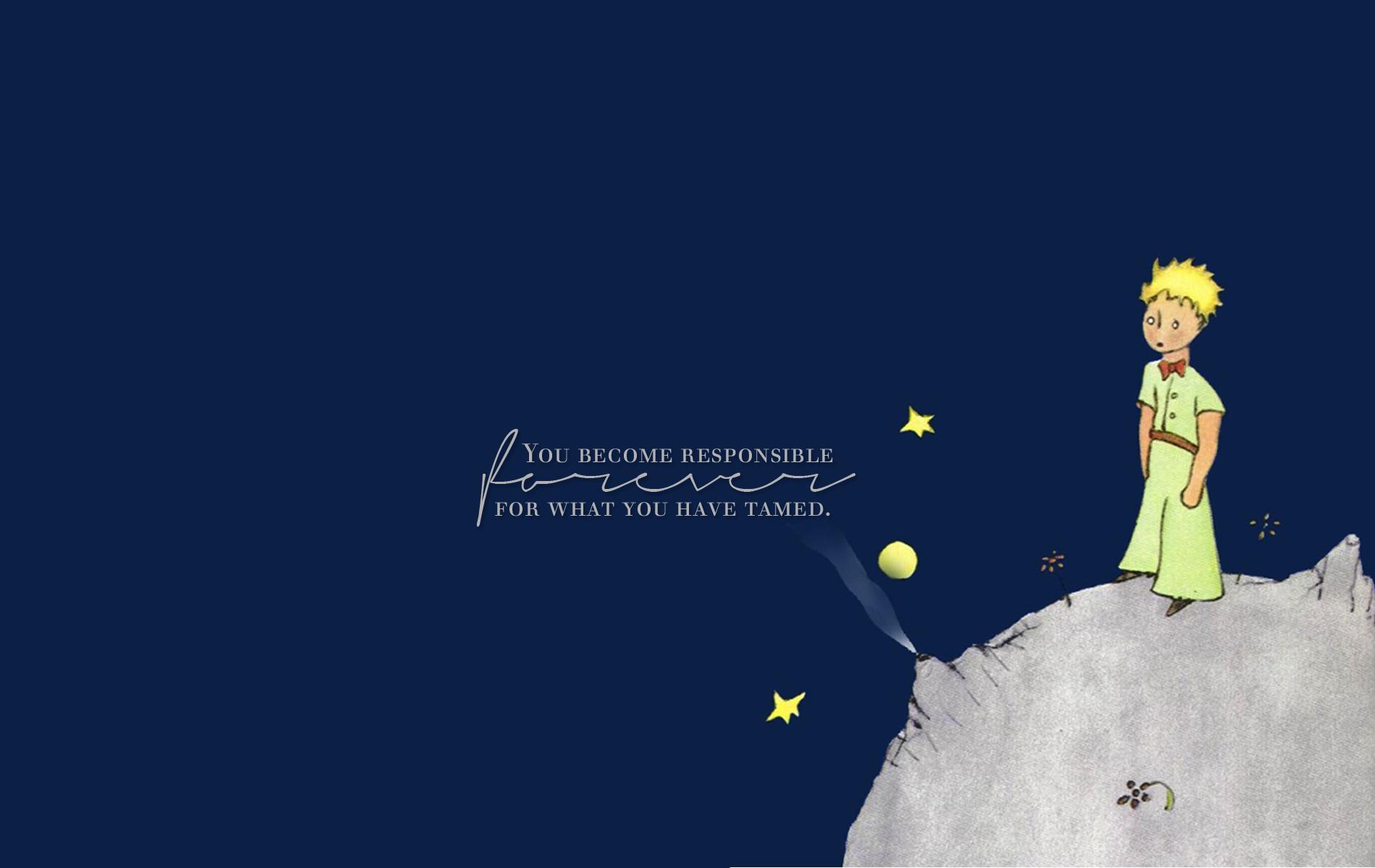Открытка, открытка с цитатами из маленький принц