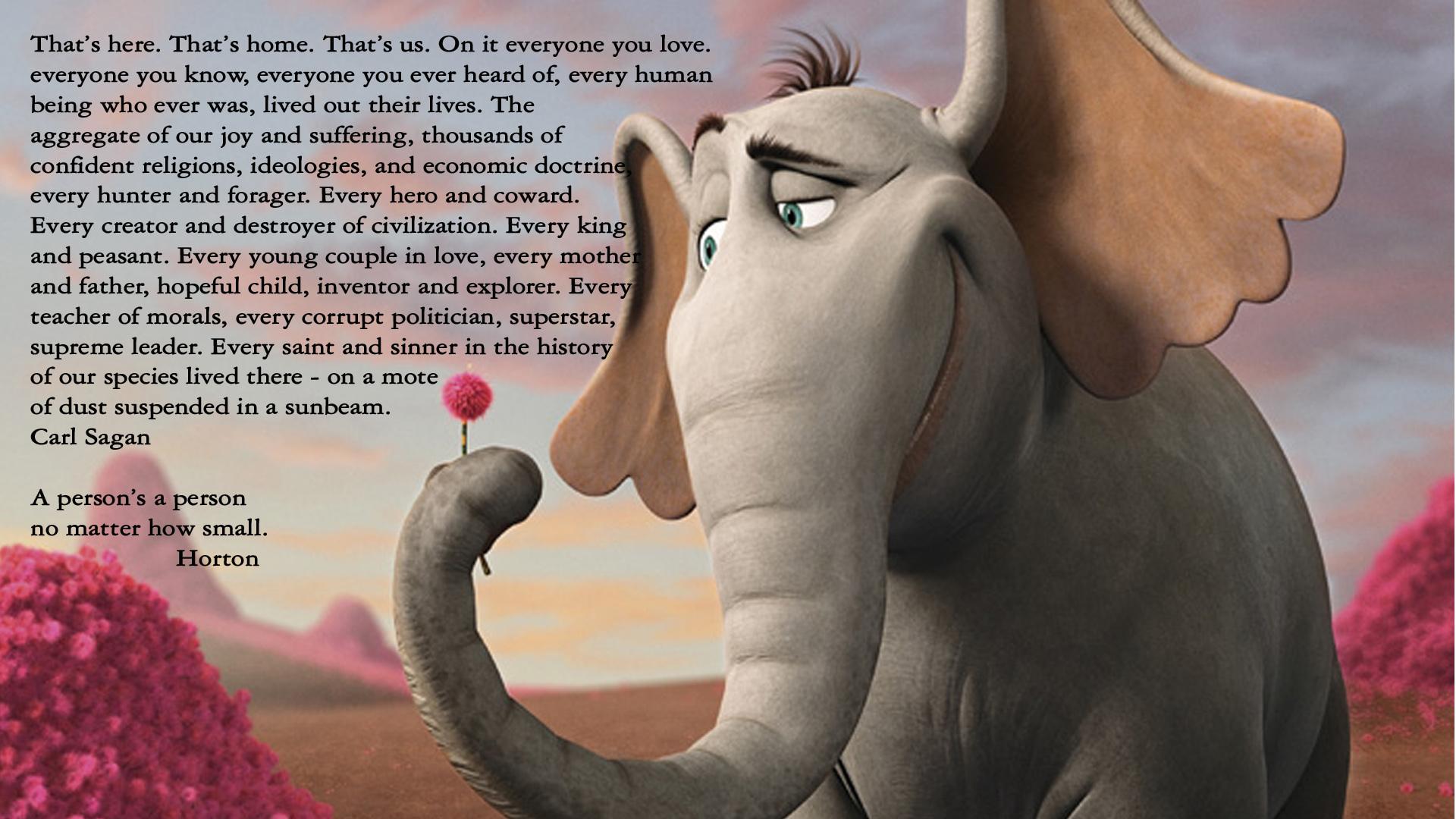 Download Wallpaper Cartoon Elephant - Cartoons_____Elephant_Horton_081291_  Picture_503425  .jpg