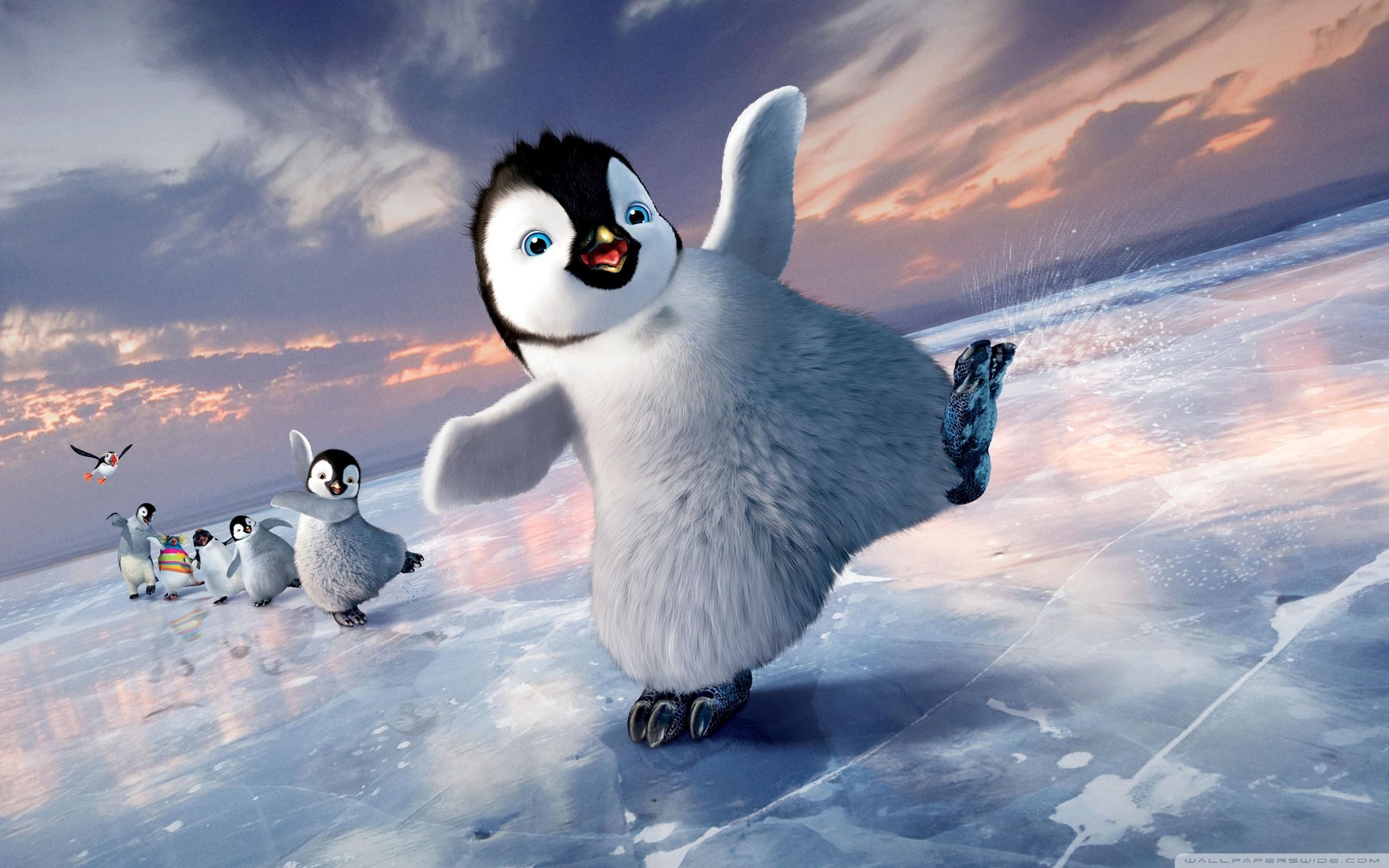 Поздравления, картинки пингвинов прикольные