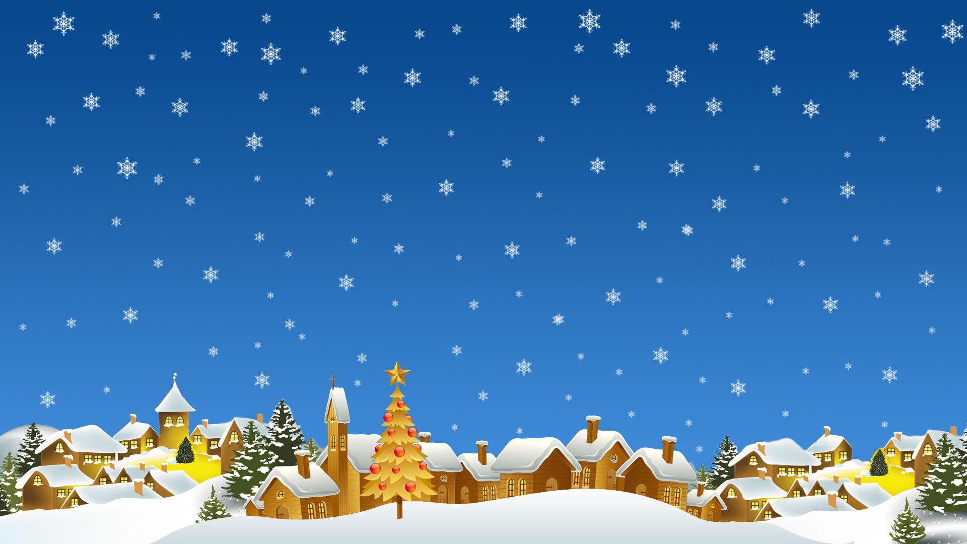 Картинка на фон рождество
