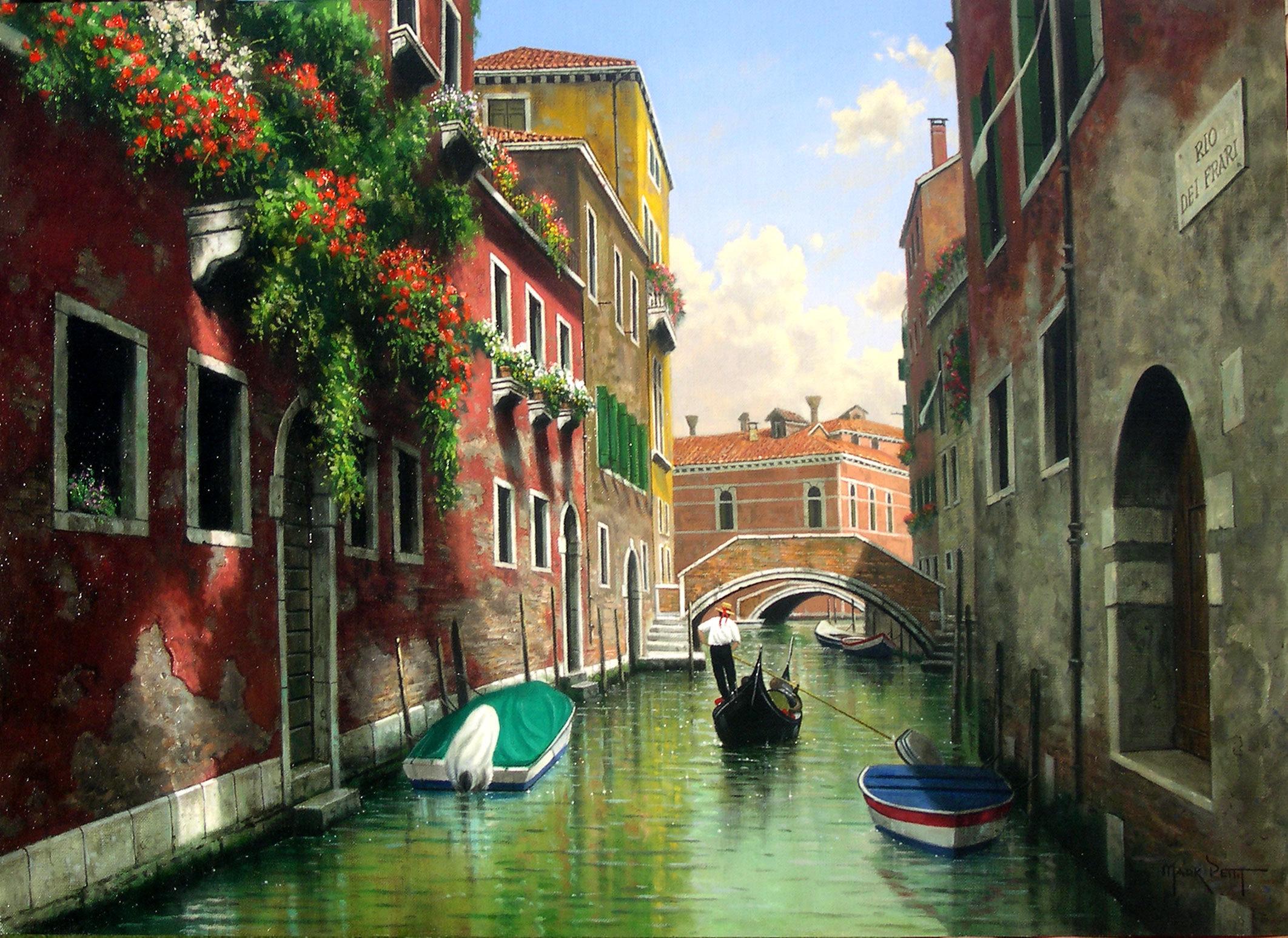 Старые постеры венеции