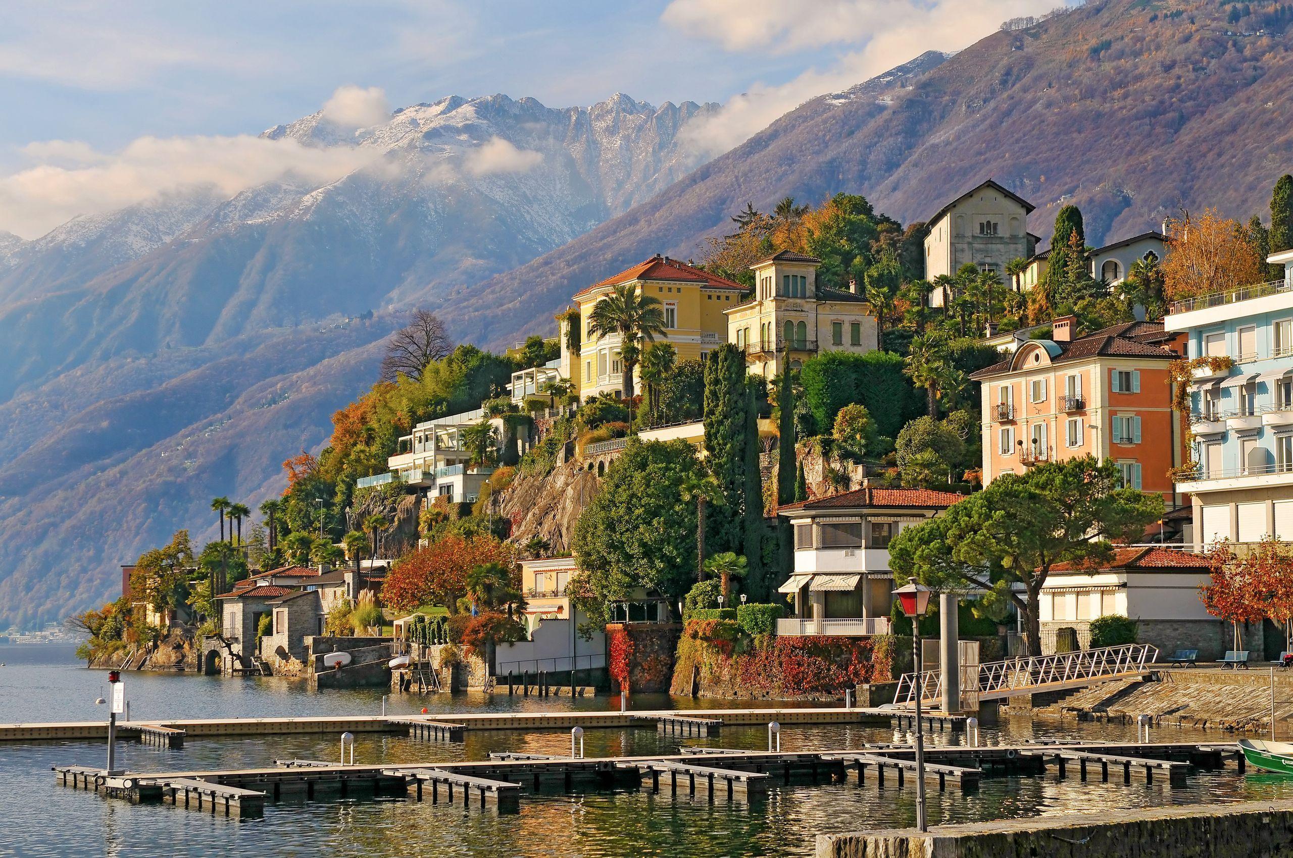 если правда швейцария городок мелиде фотографии города примеру