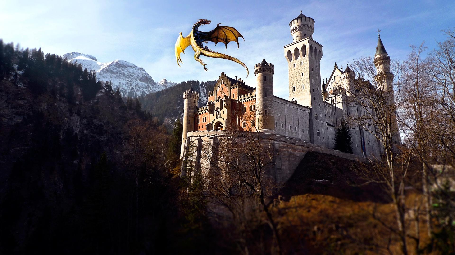 Обои на рабочий стол средневековые замки настоящее время