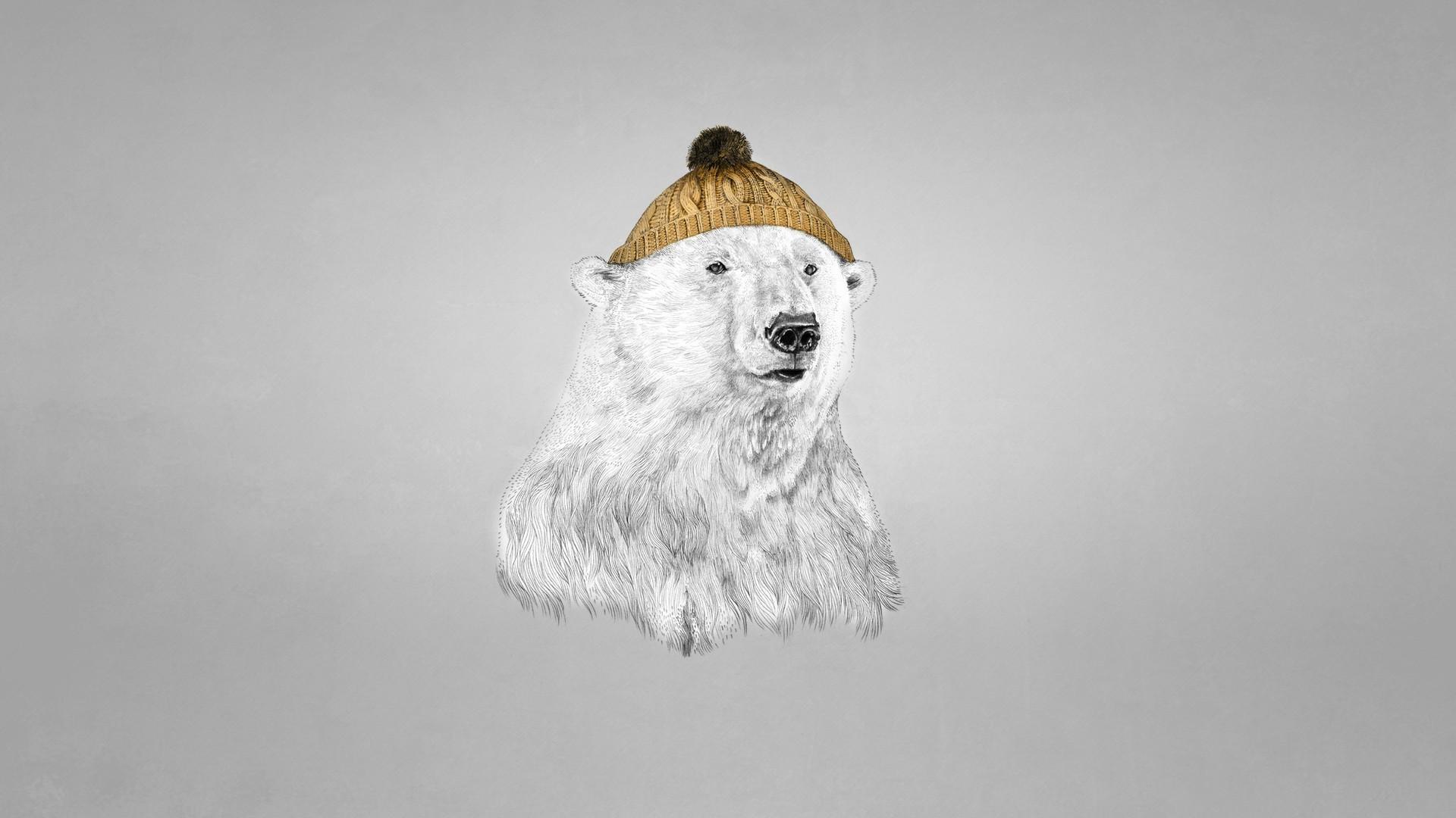картинка бурый медведь в костюме белого заварной