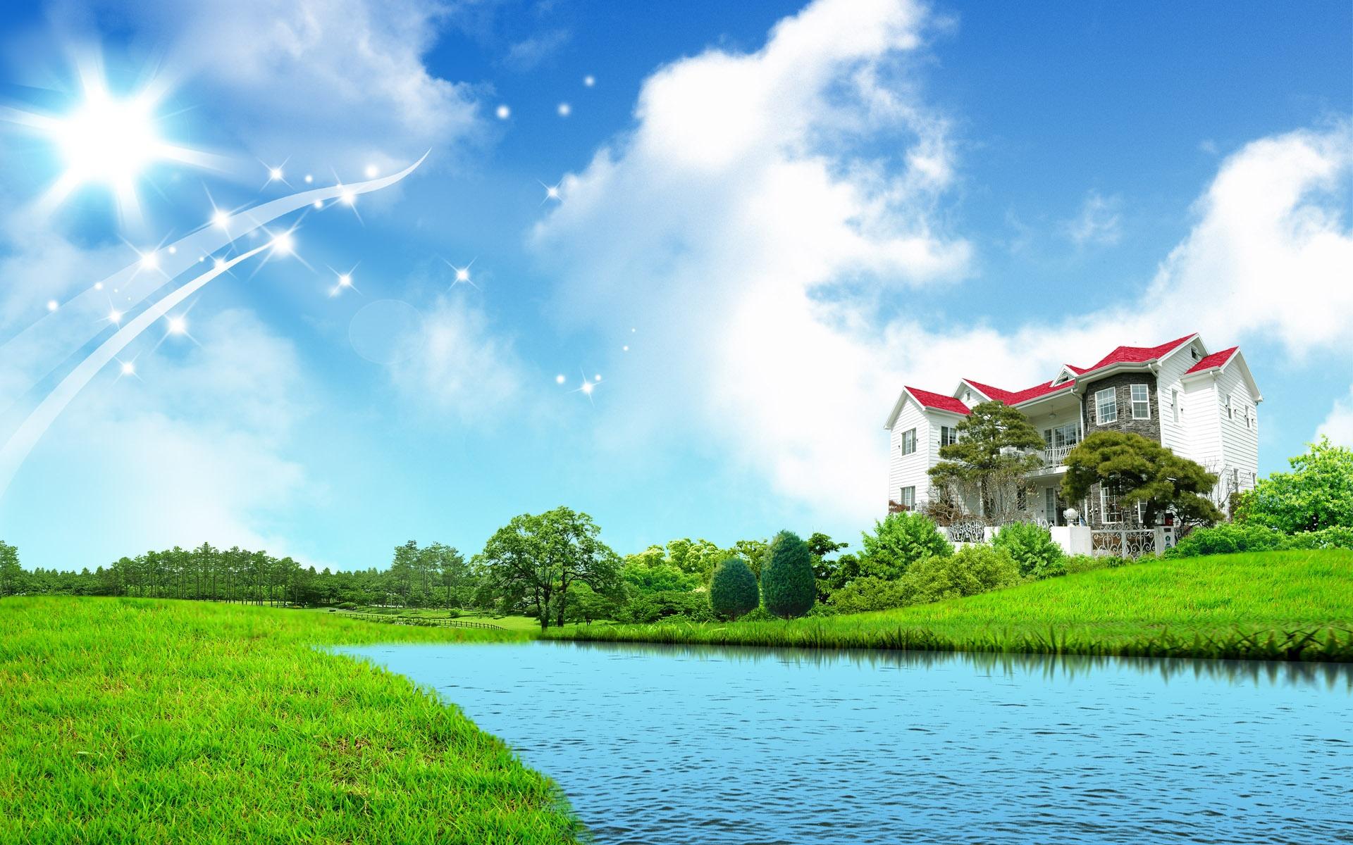 Картинки природа для фона дома