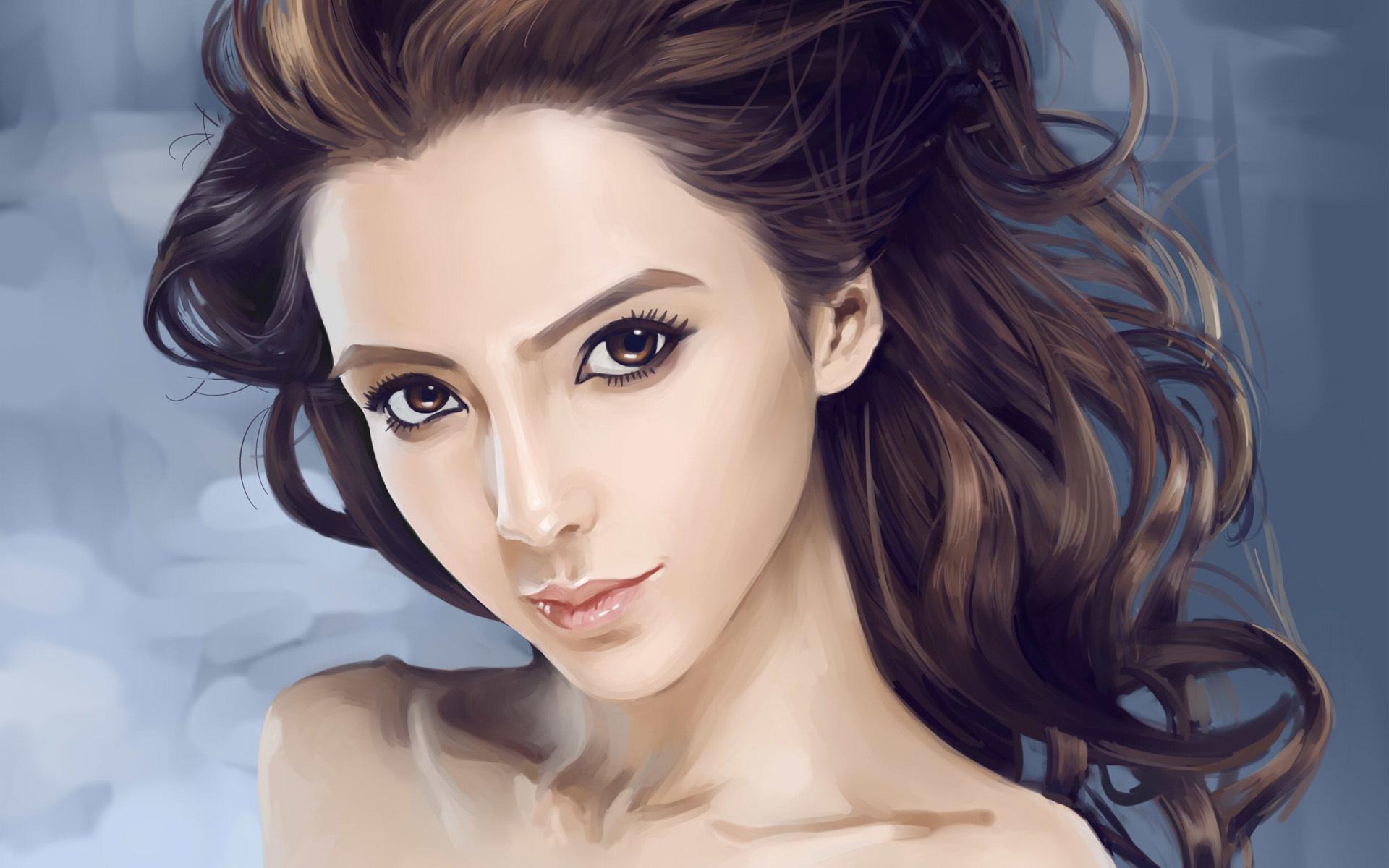 Картинки, нарисованные картинки с девушками красивыми