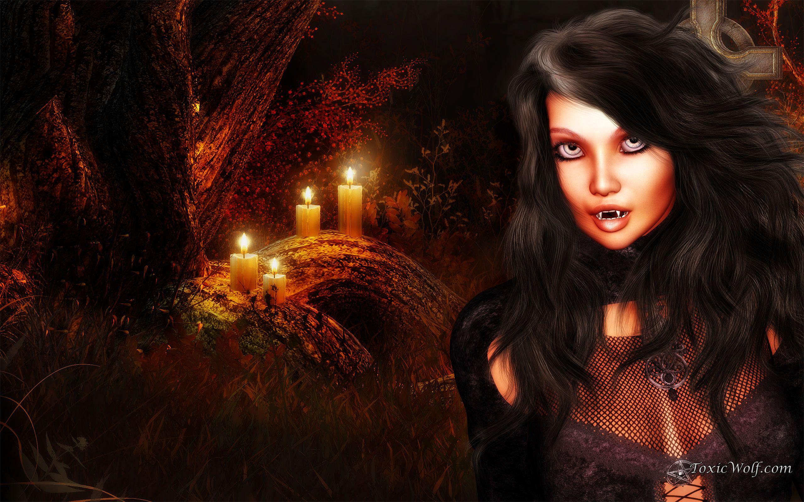 Картинки вампиров девушек красивых