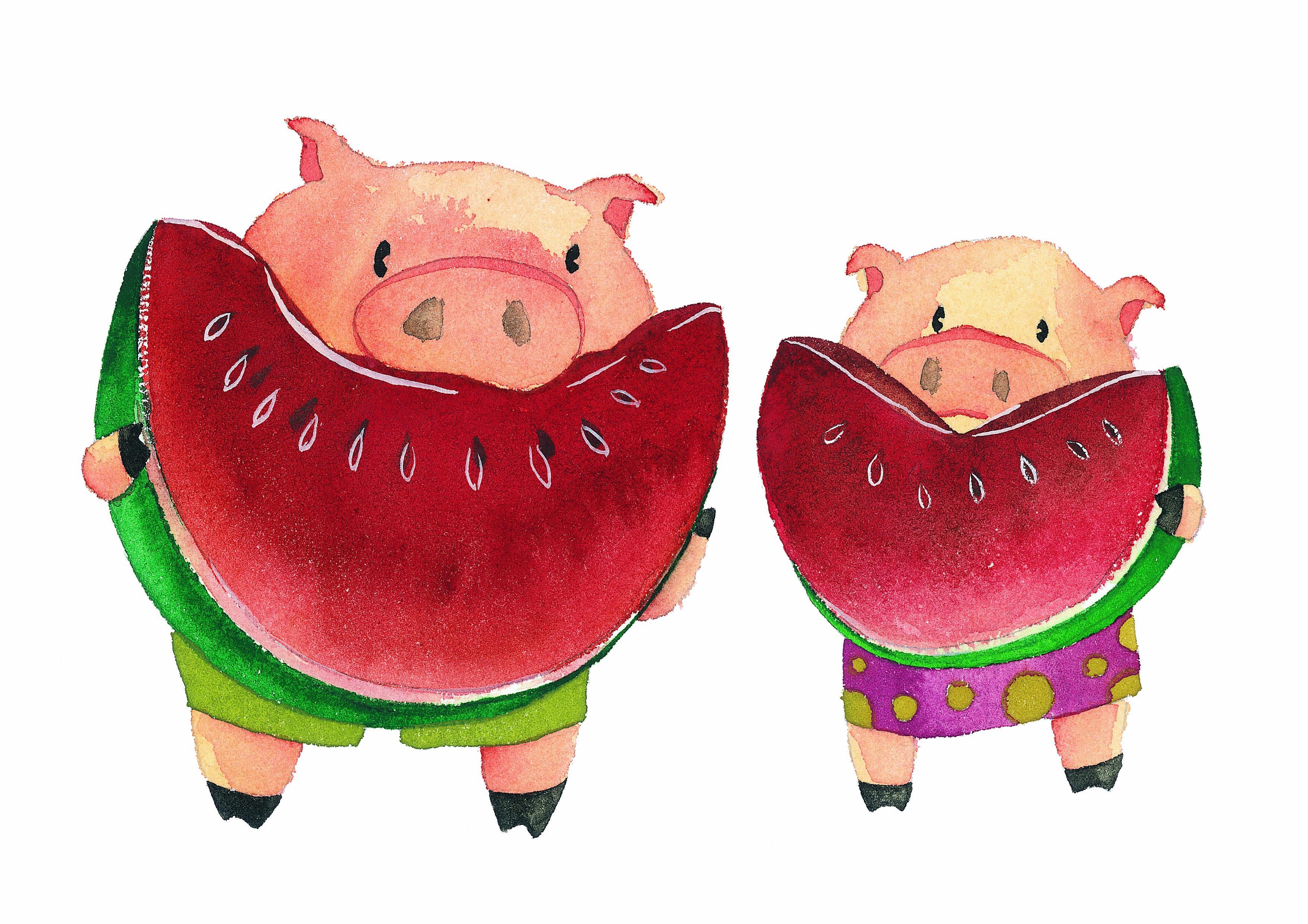 тут приходится свинья в арбузах картинки рецепт фото ванильных