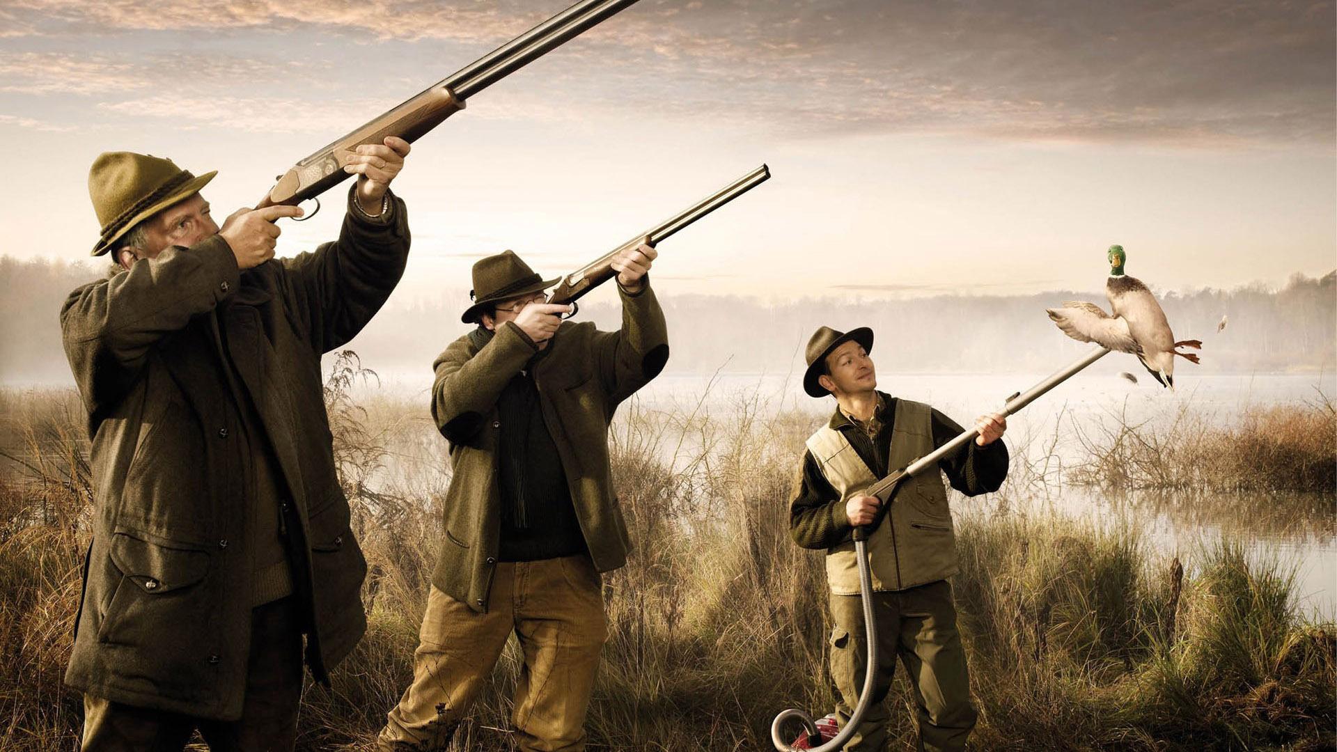 Смешные фотографии про охоту